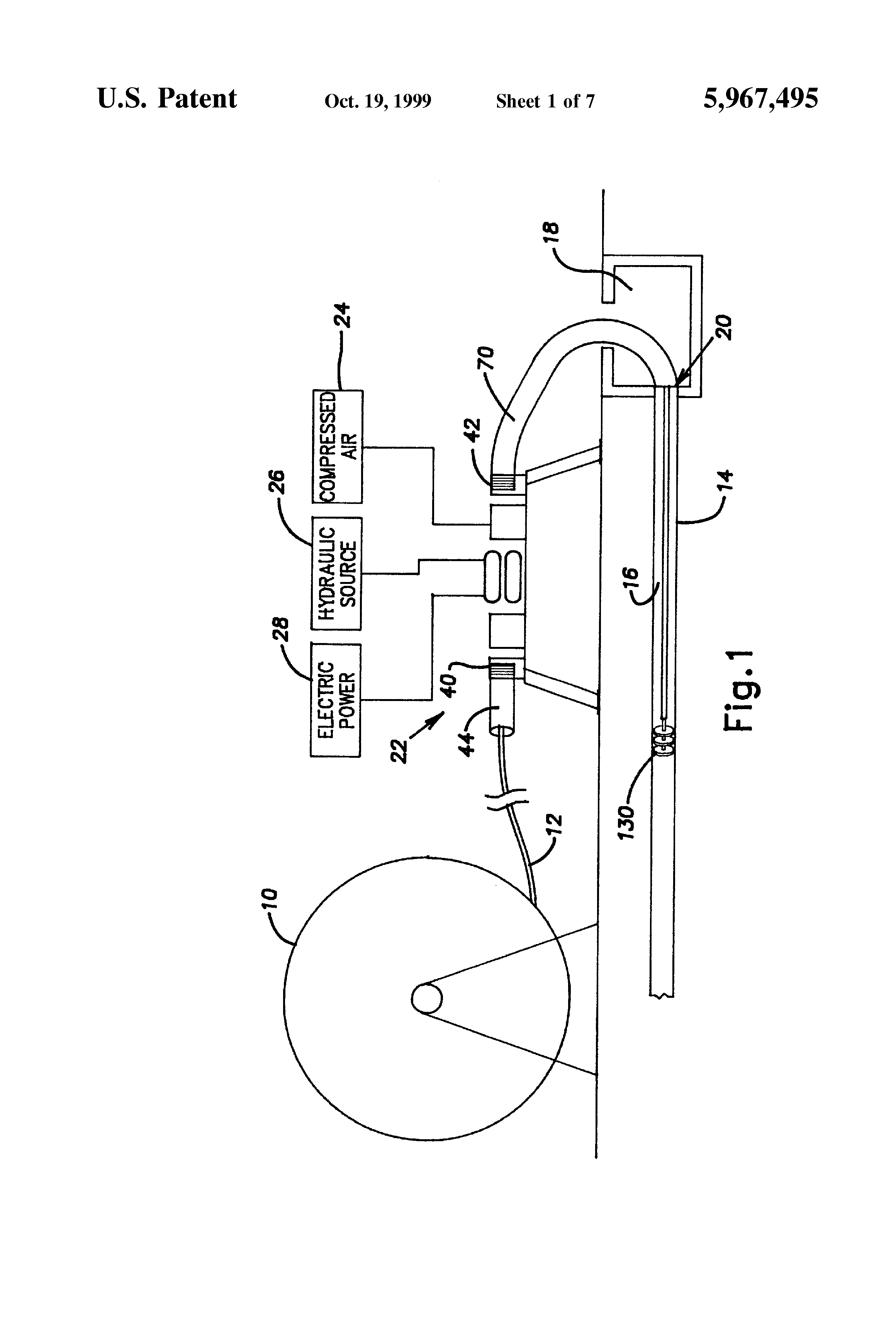 Apparatus And Method For Installing Cable : Patent us cable feeding apparatus and method