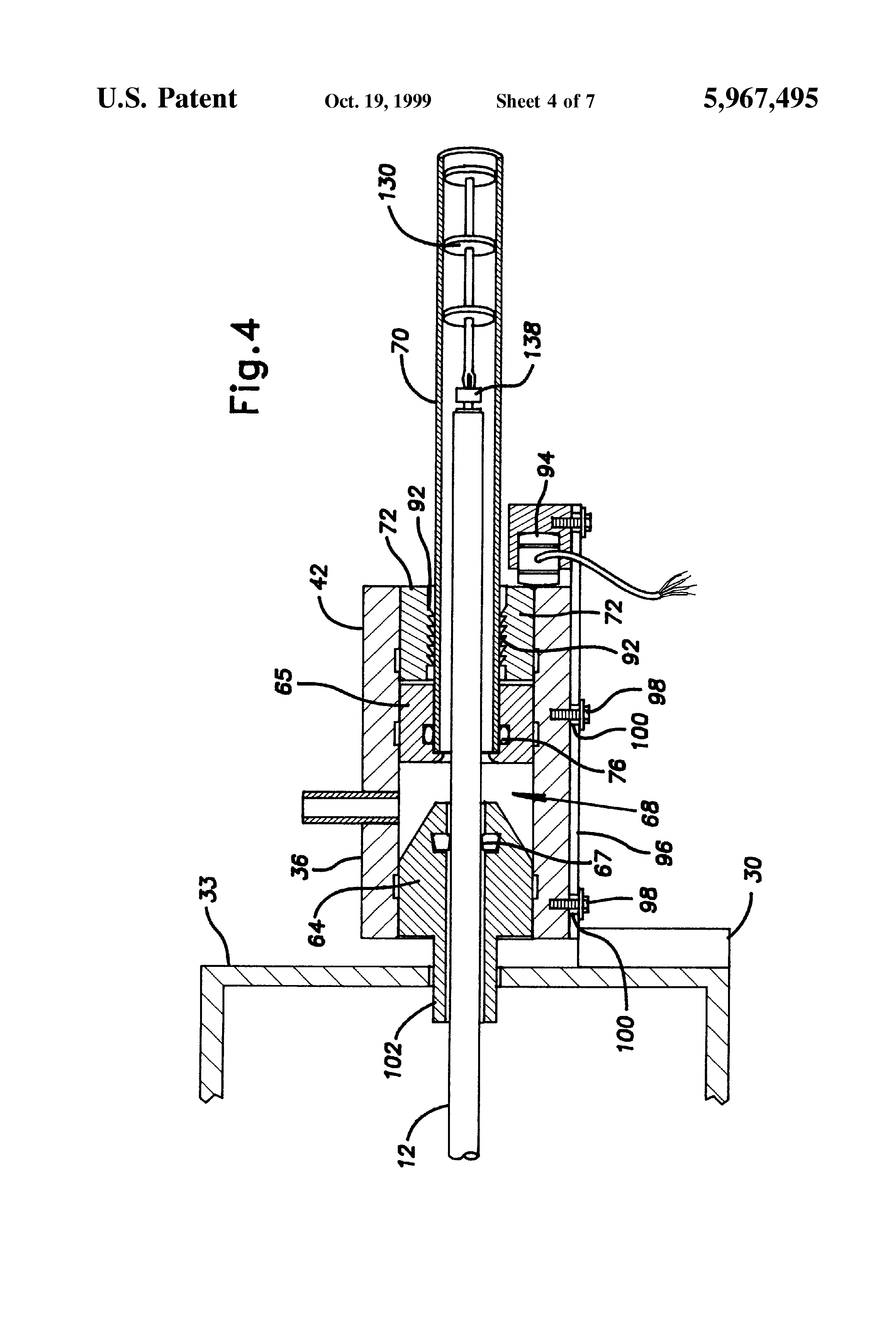Apparatus And Method For Installing Cable : Brevetto us cable feeding apparatus and method