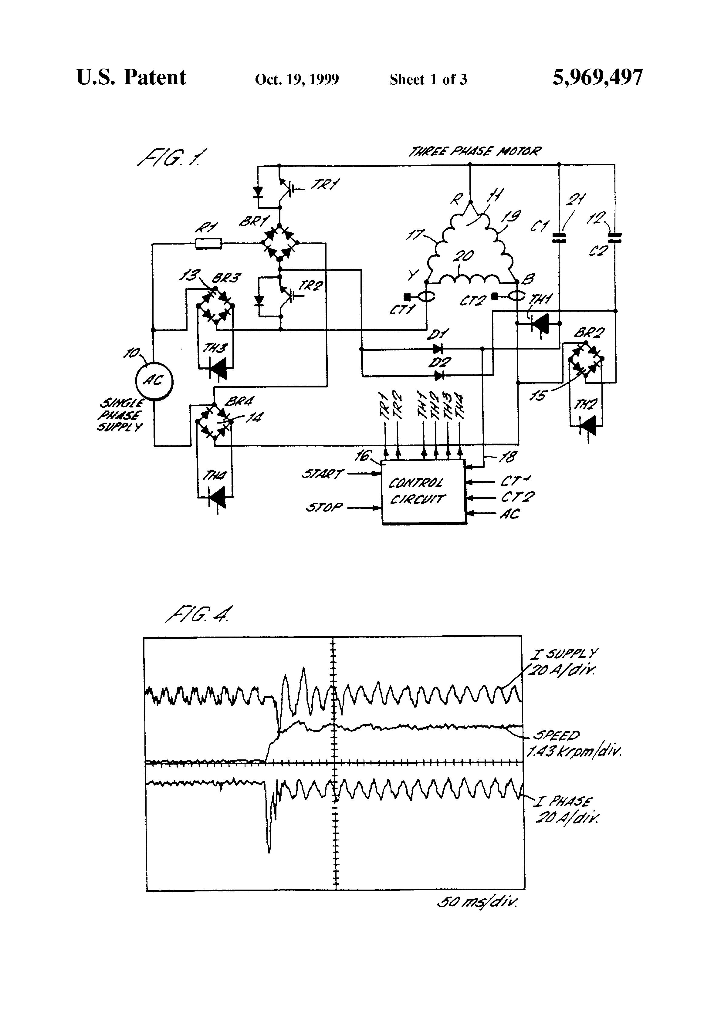 Patent US5969497 Electric motor starting circuit Google Patents – Diehl Electric Motors Wiring Diagram