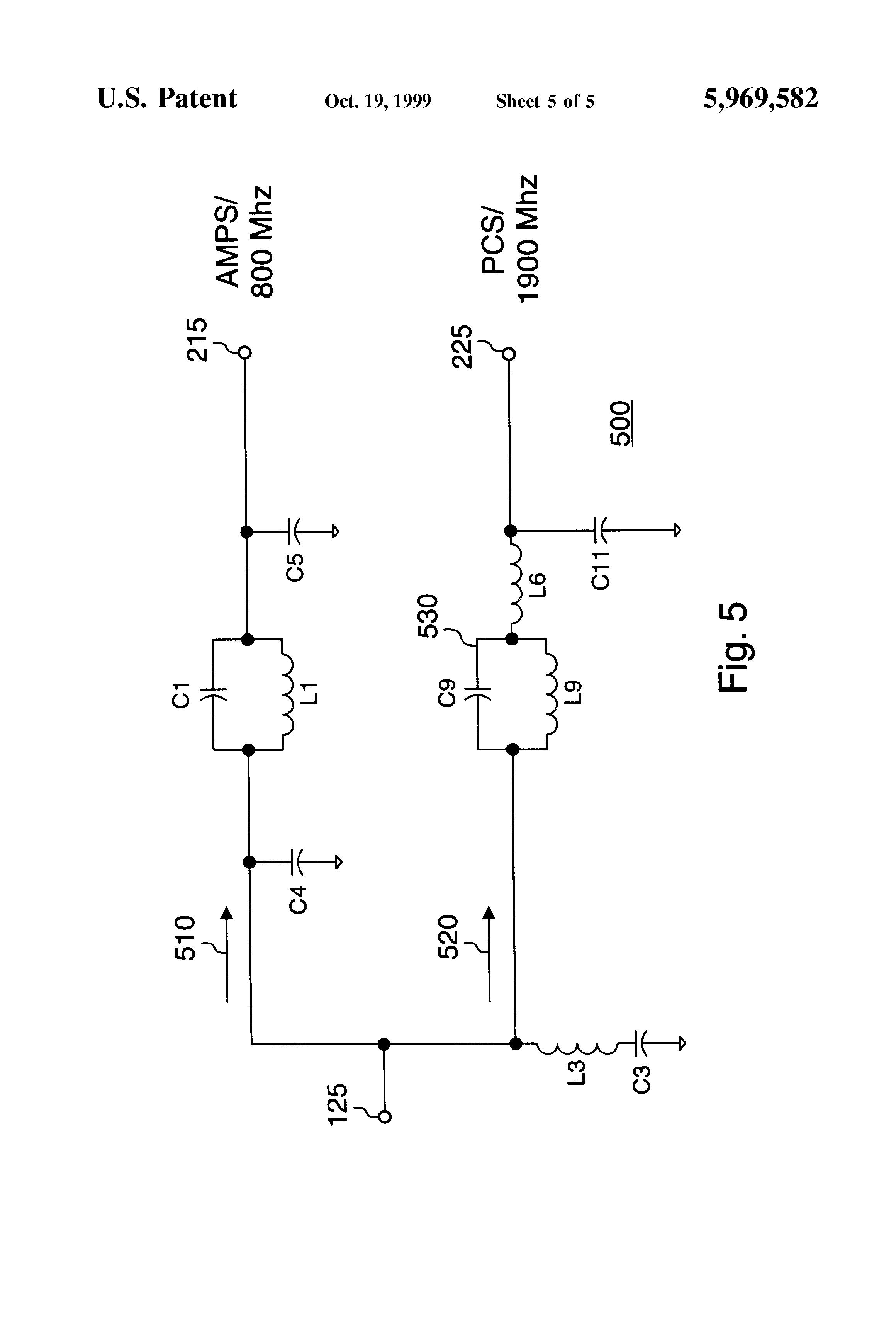patent us5969582