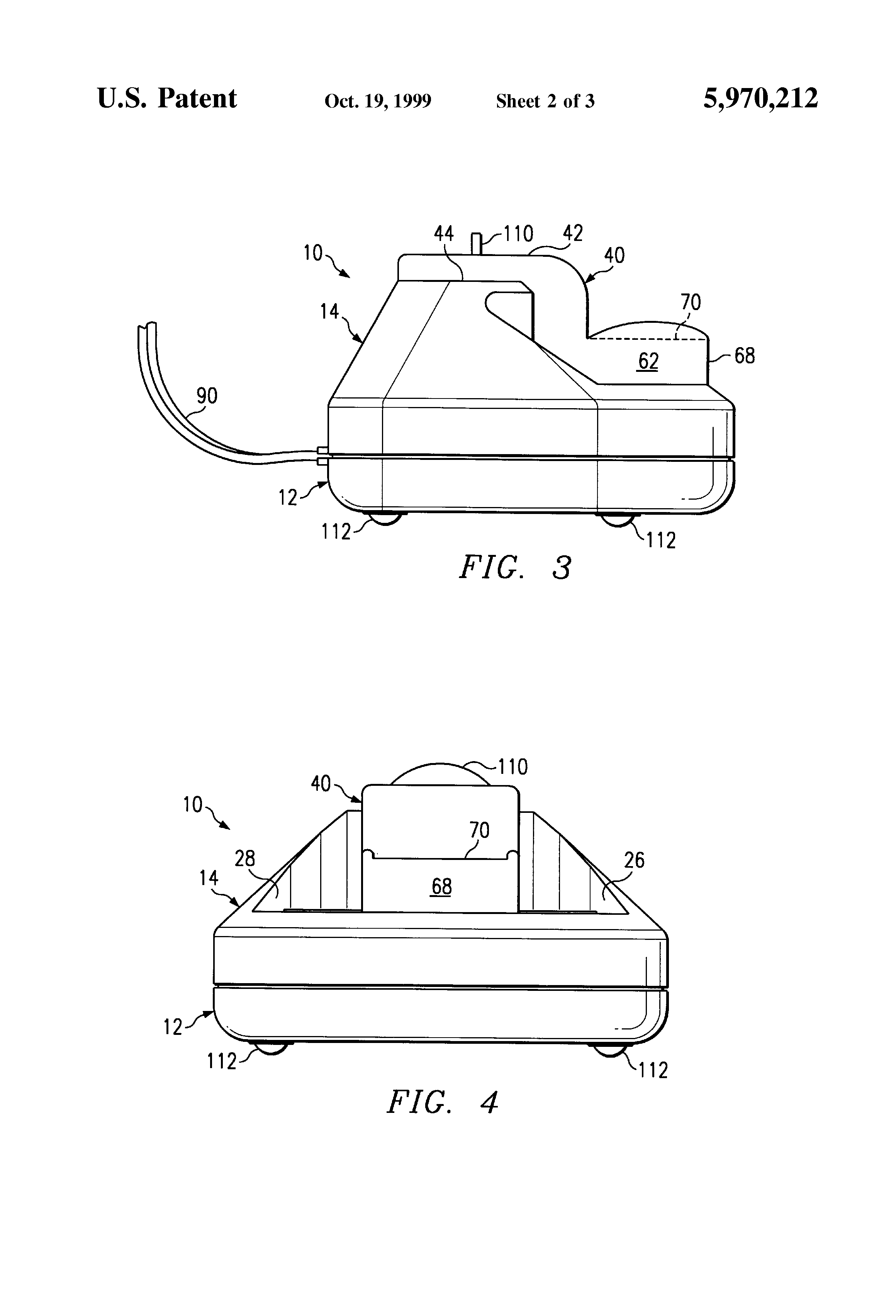 patent us5970212 waterless vaporizer google patents patent drawing