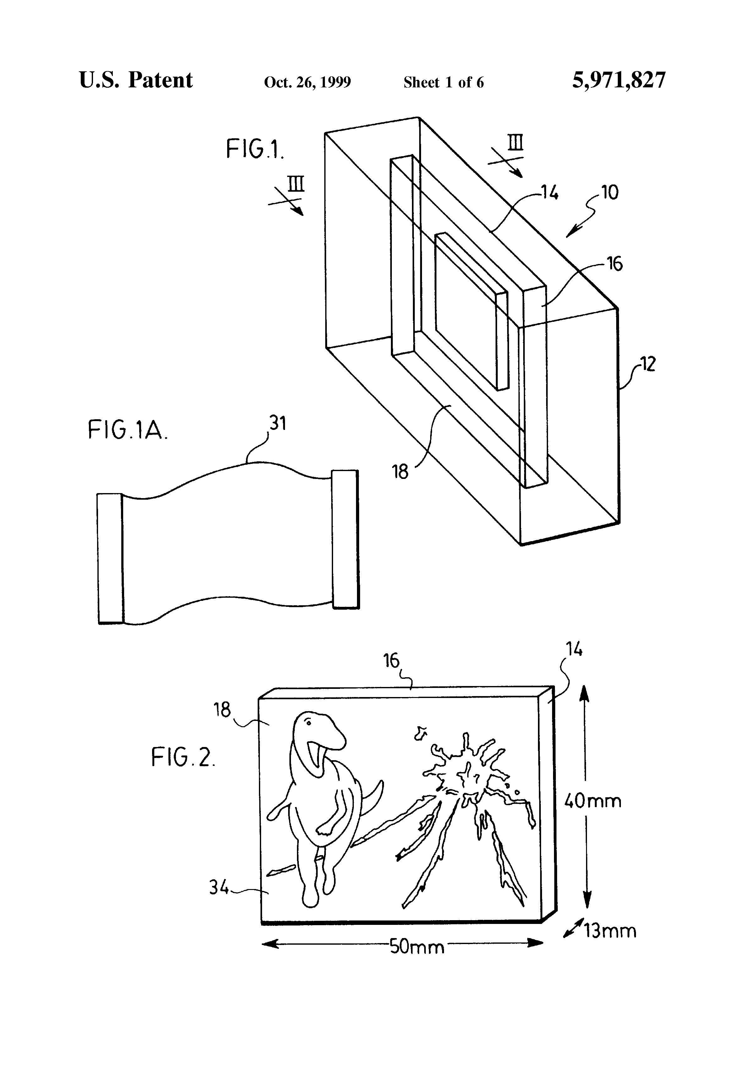 patent us5971827 - novelty soap