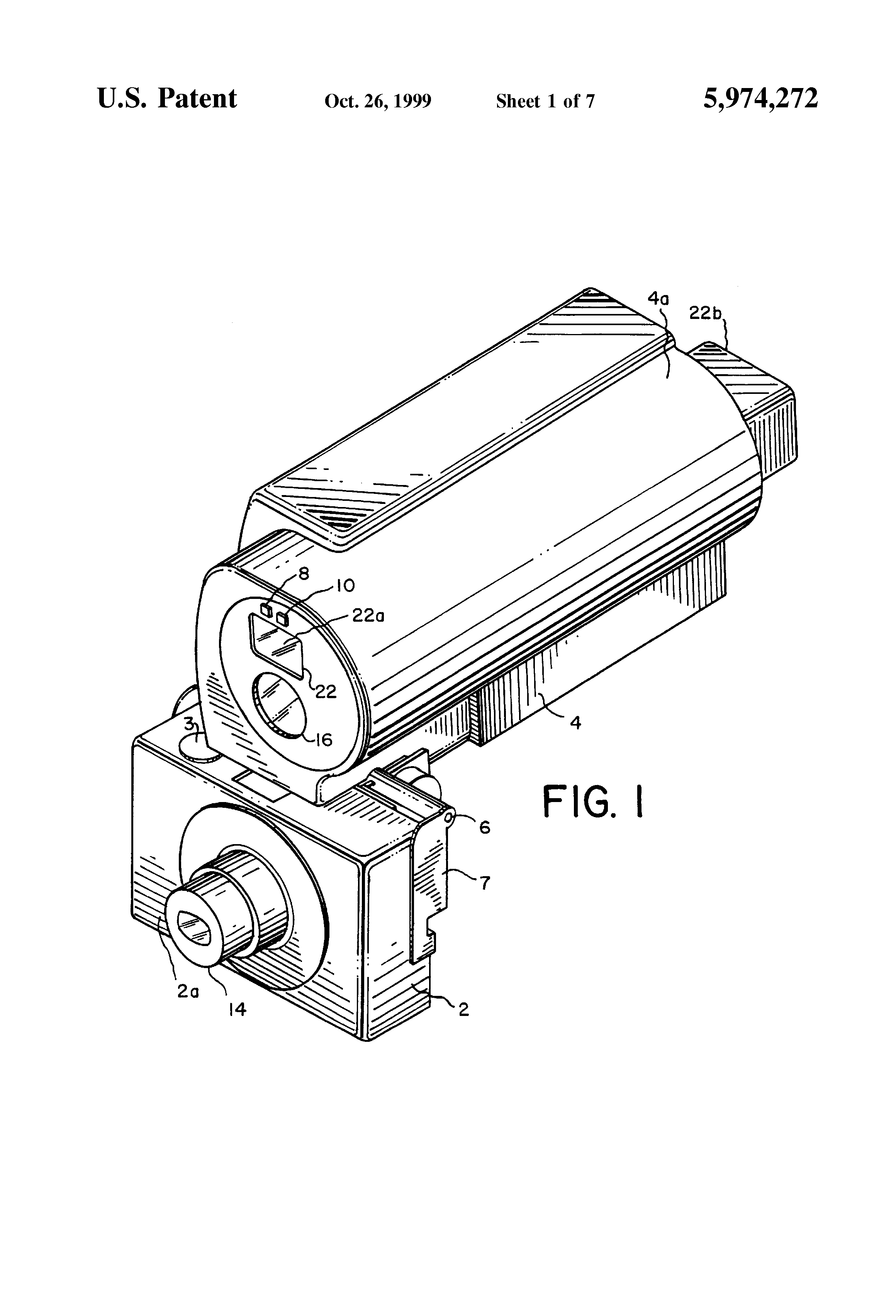 Patent Us5974272 Parallax Corrected Image Capture System Google 427 Engine Diagram Drawing