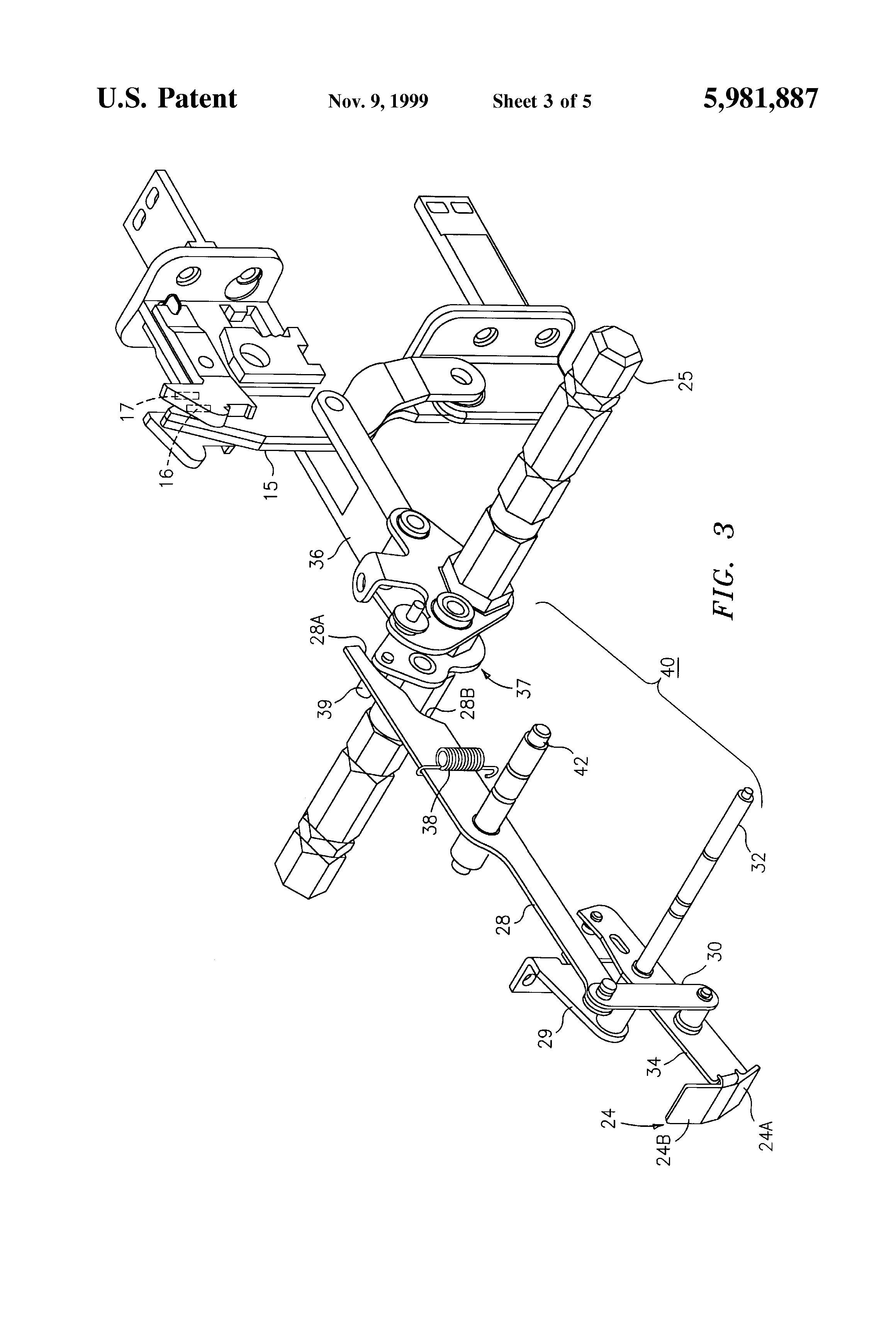 patent us5981887