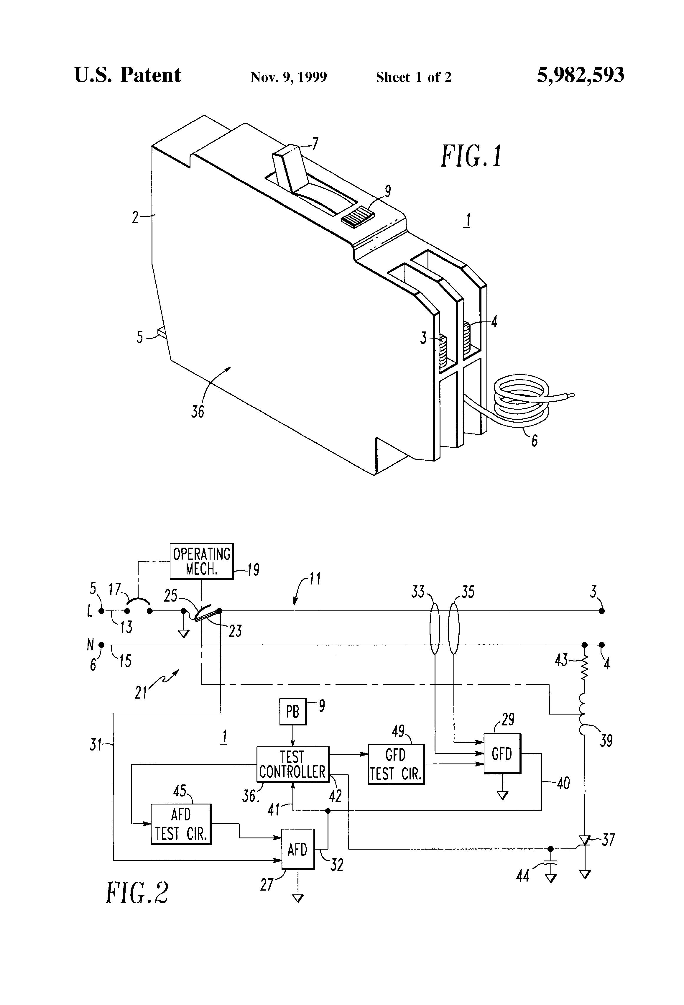 patent us5982593