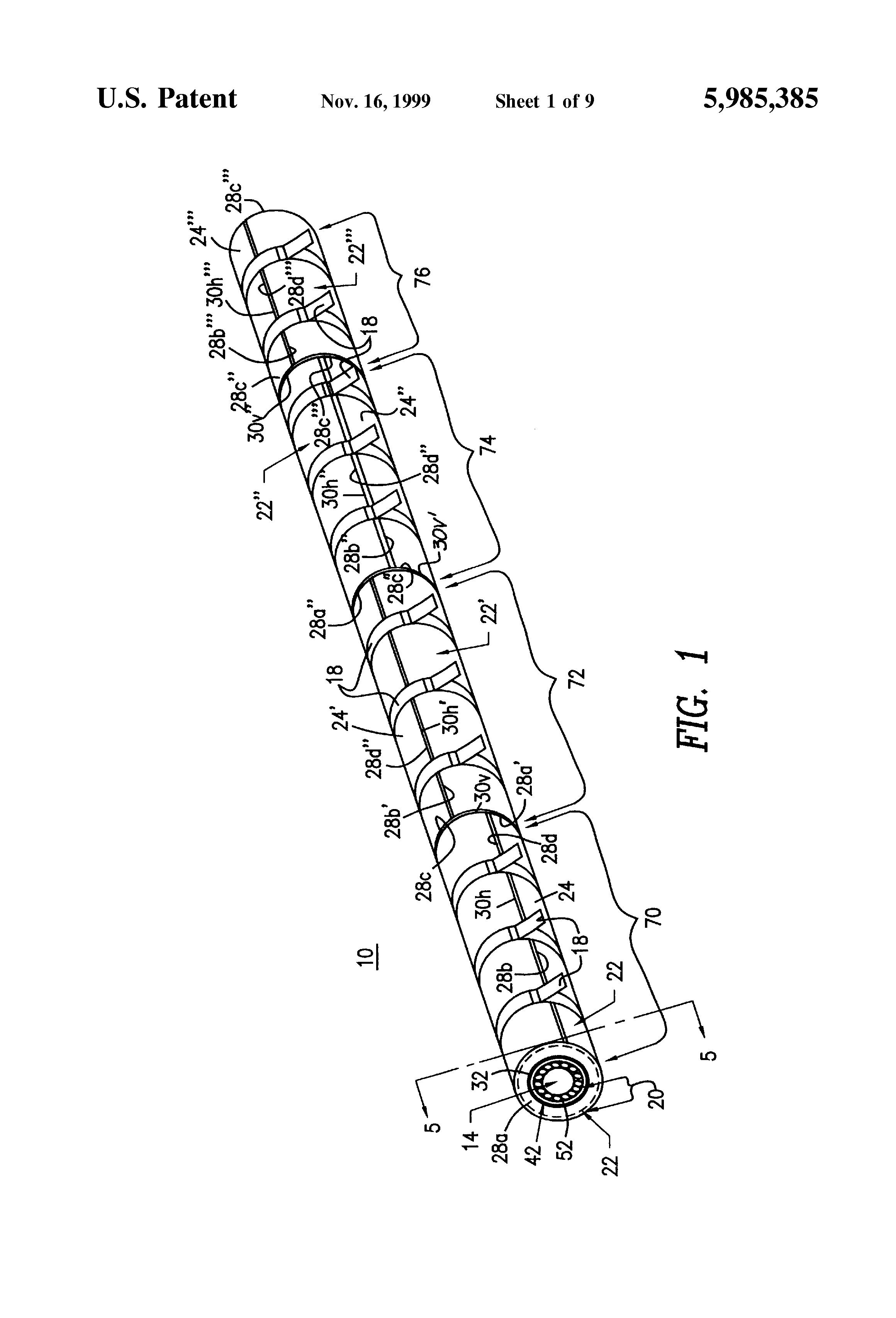 patent us5985385