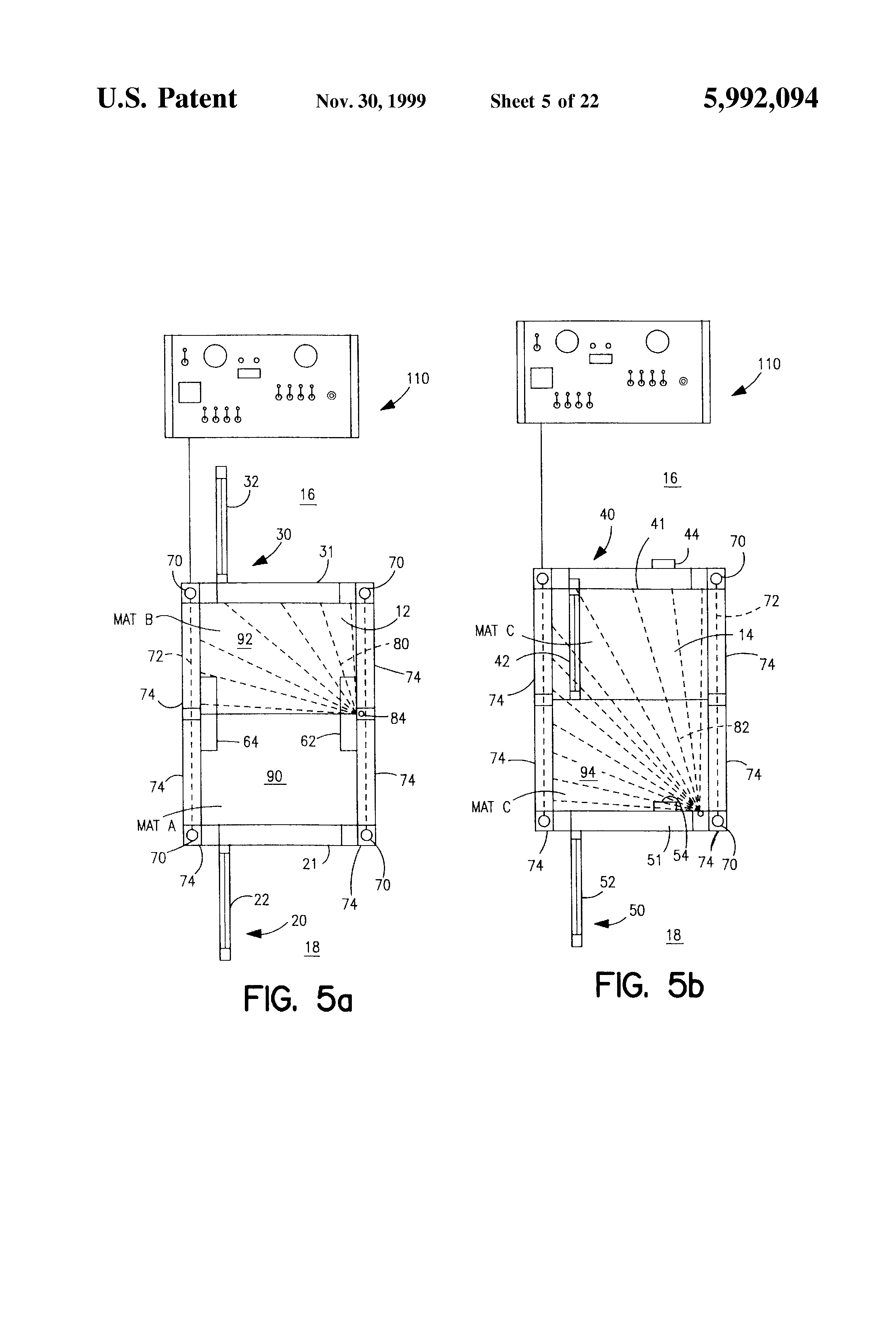 patent us5992094 - access control vestibule
