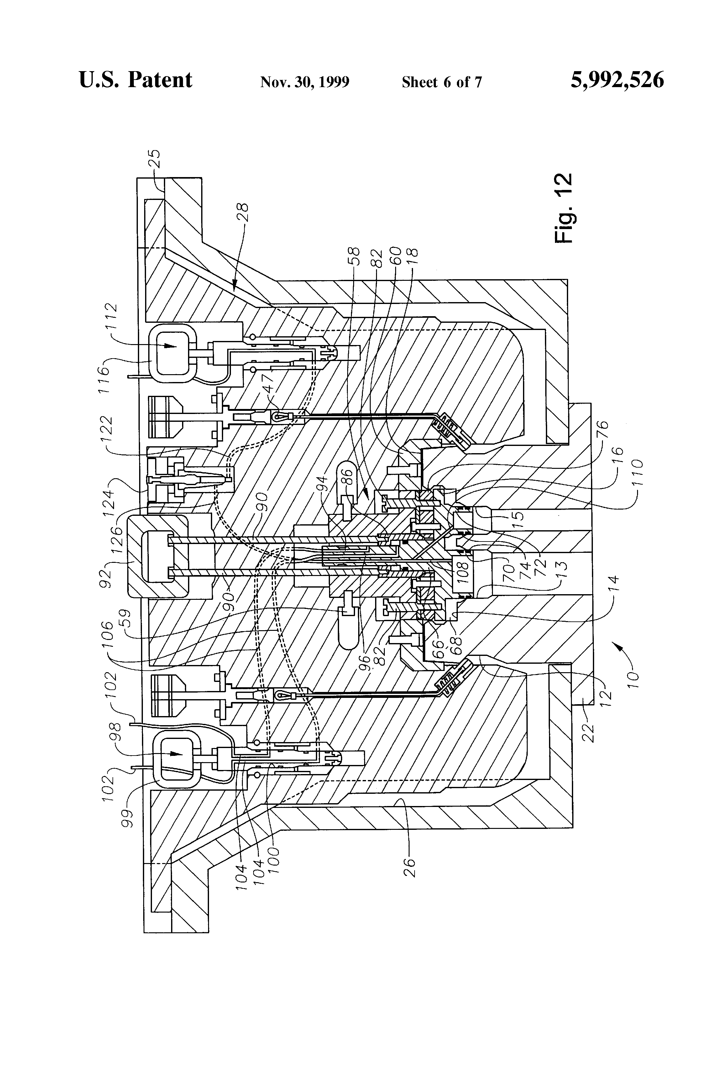 Patent US5992526 ROV deployed tree cap for a subsea tree and – Ibanez Blazer Series Wiring Diagram