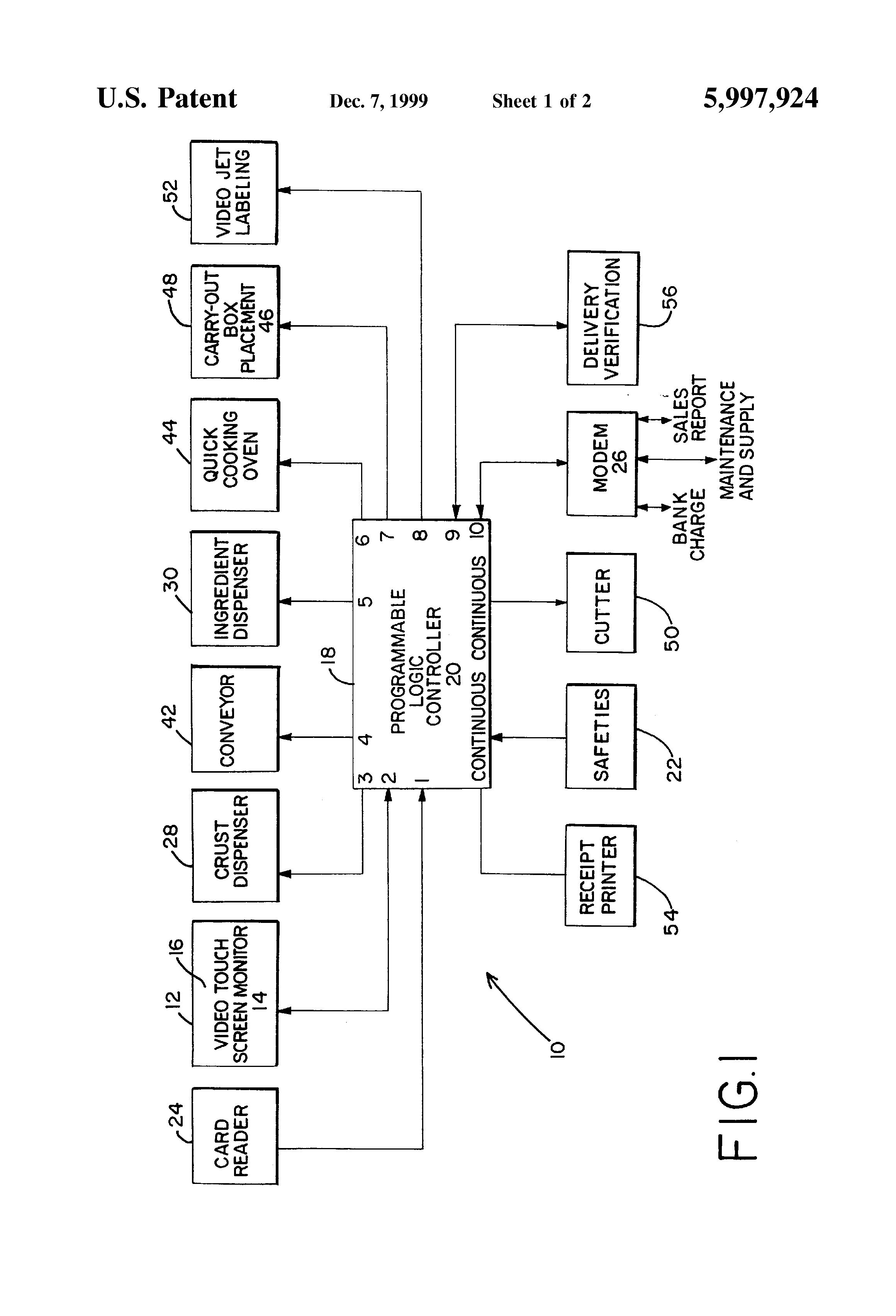 patent us5997924