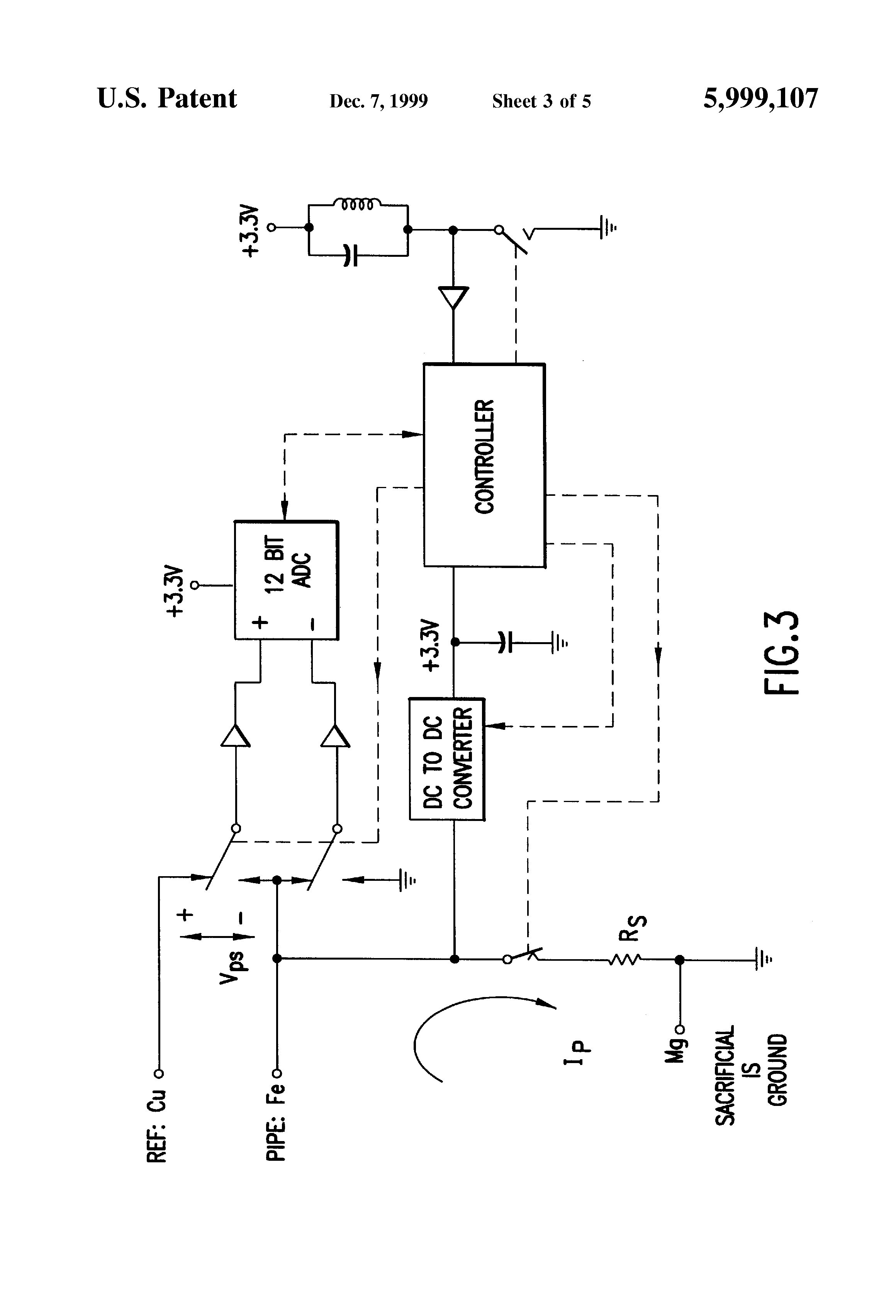 US5999107 3 patent us5999107 remote cathodic protection monitoring system cathodic protection rectifier wiring diagram at n-0.co