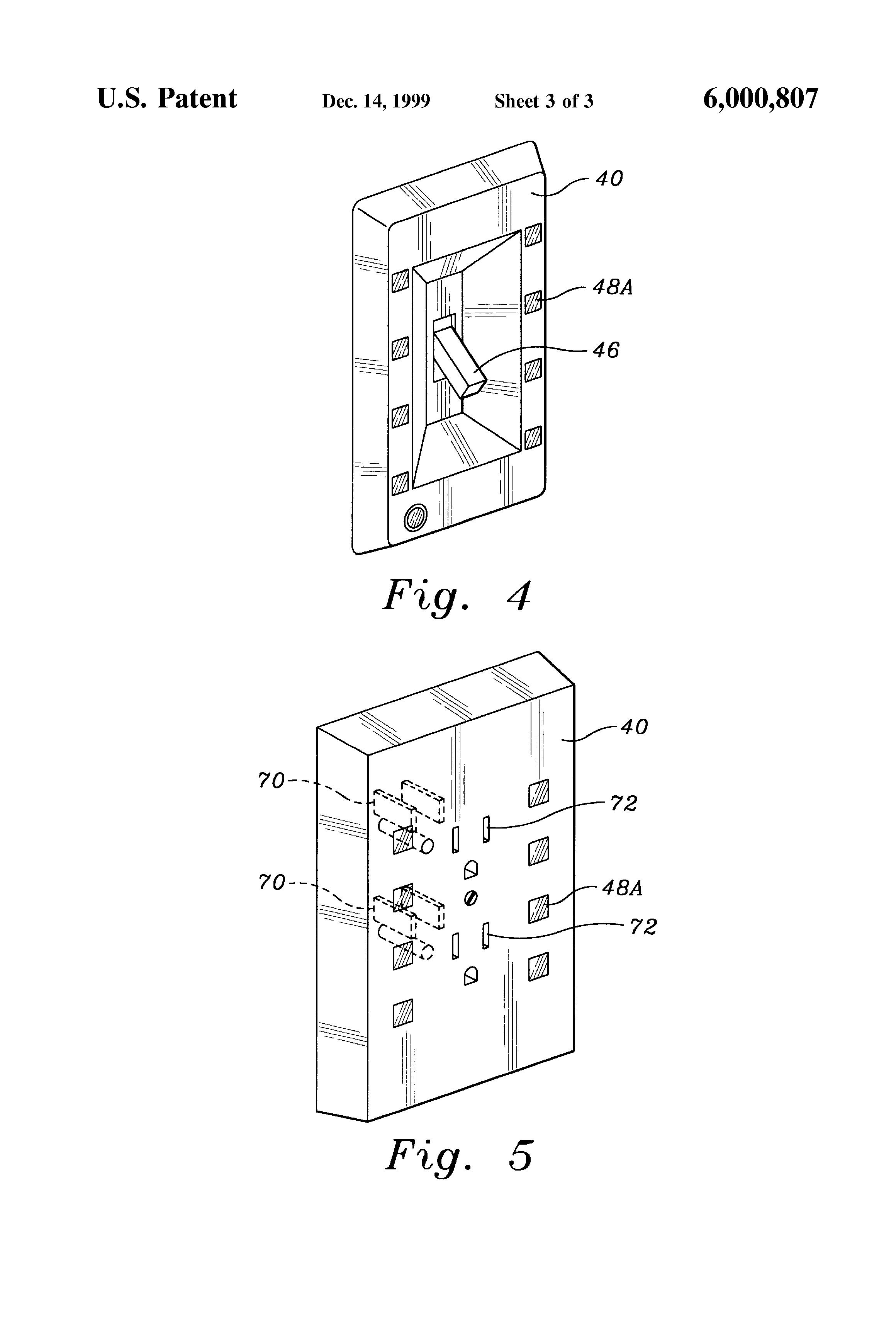 patent us6000807