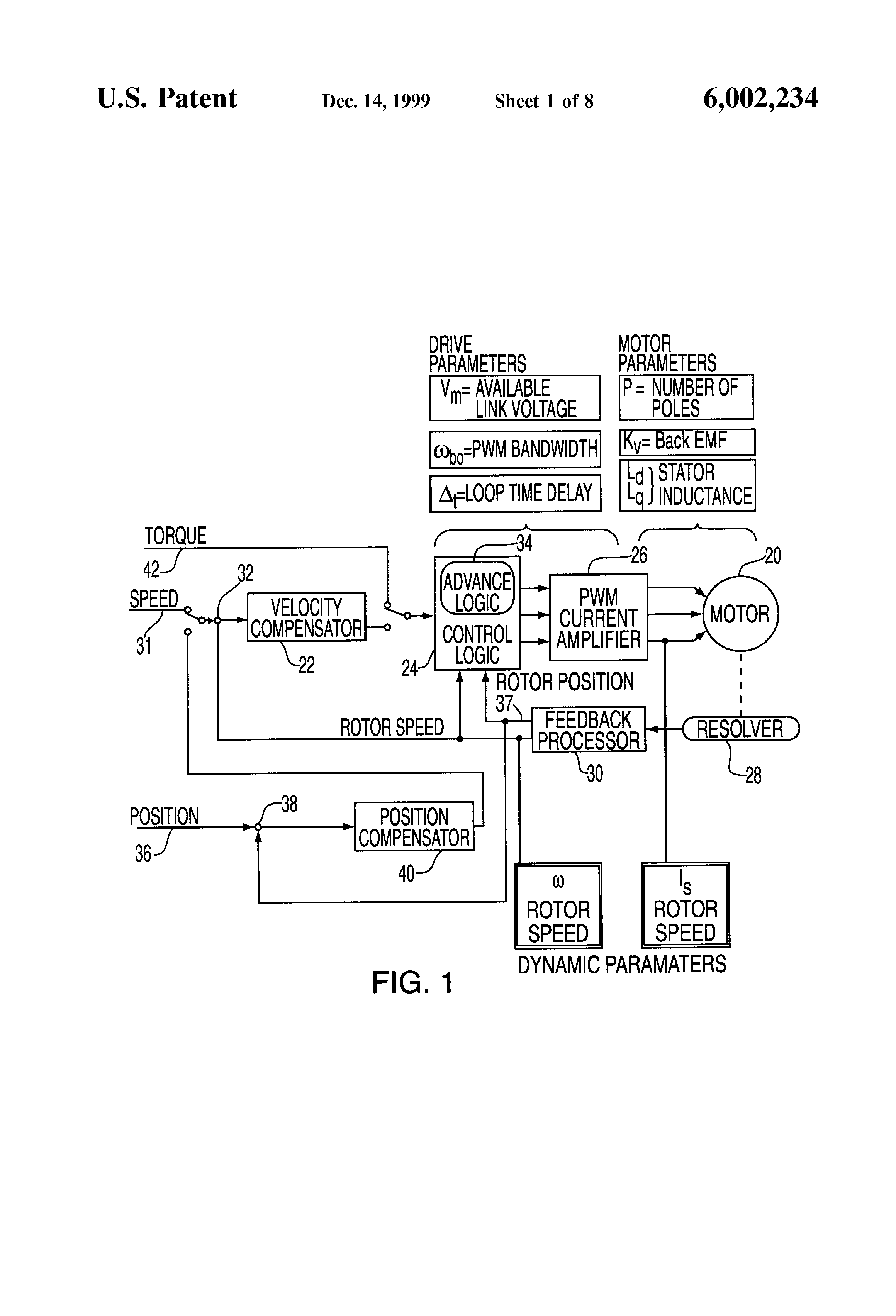 Patent Us6002234 System And Method For Controlling Brushless Brushlessmotorinsidediagram Drawing