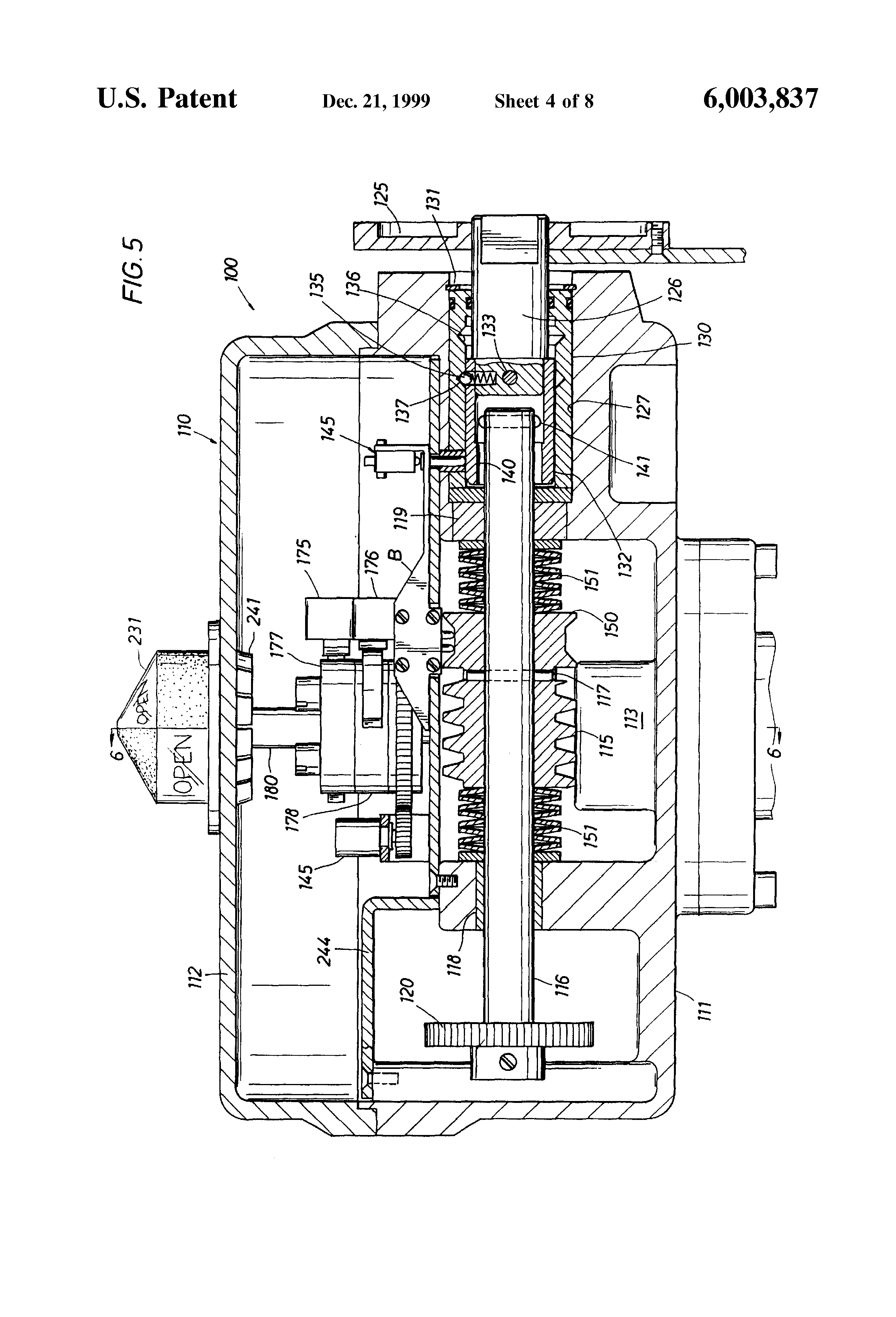 US6003837 4 patent us6003837 valve actuator google patents eim actuator wiring diagram at crackthecode.co