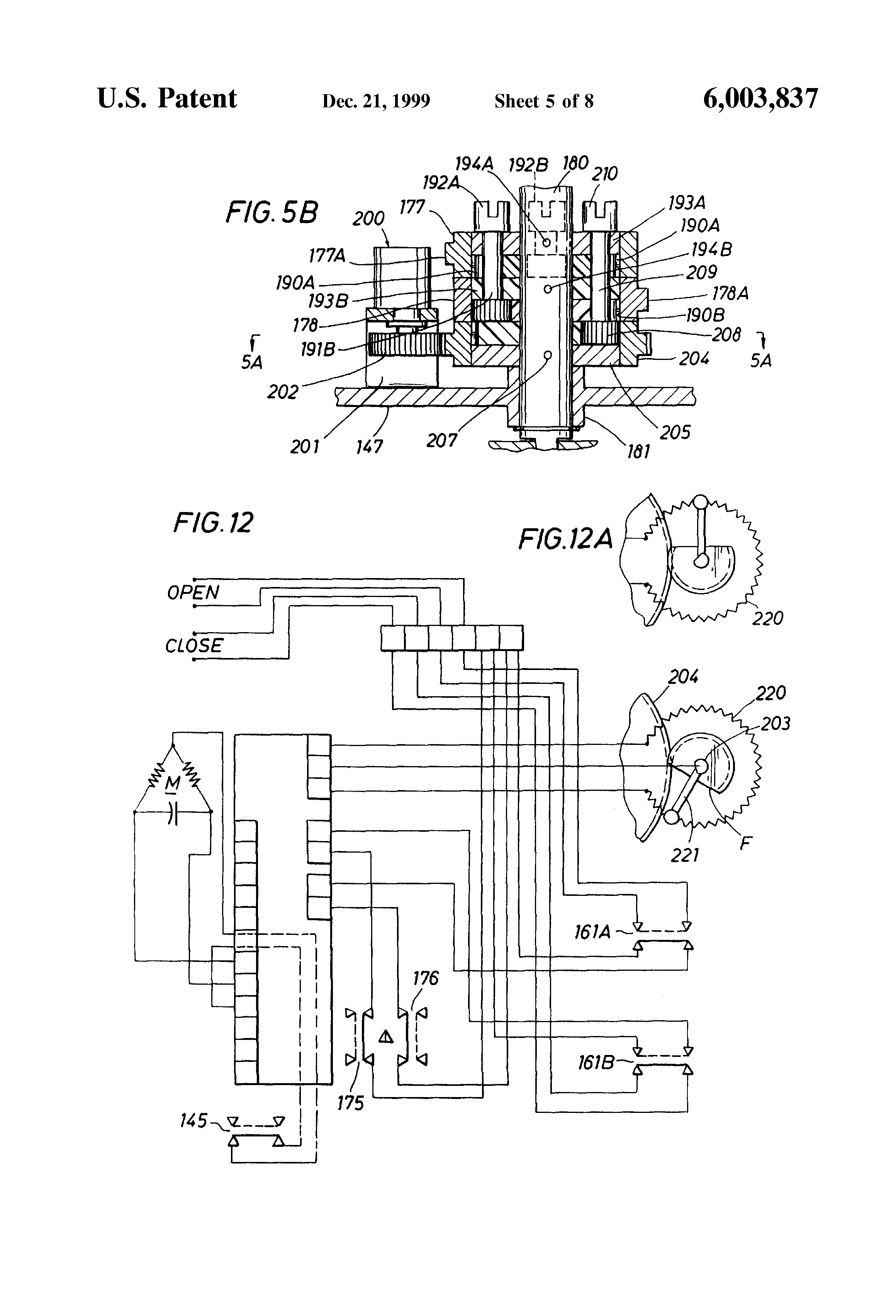 US6003837 5 patent us6003837 valve actuator google patents westlock limit switch wiring diagram at bakdesigns.co