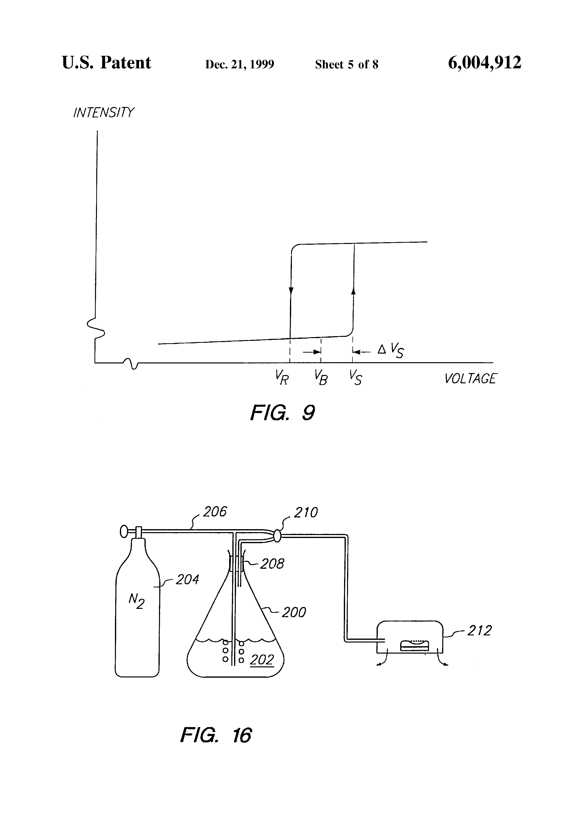 U Molecular Weight Patent US6004912 - Vap...