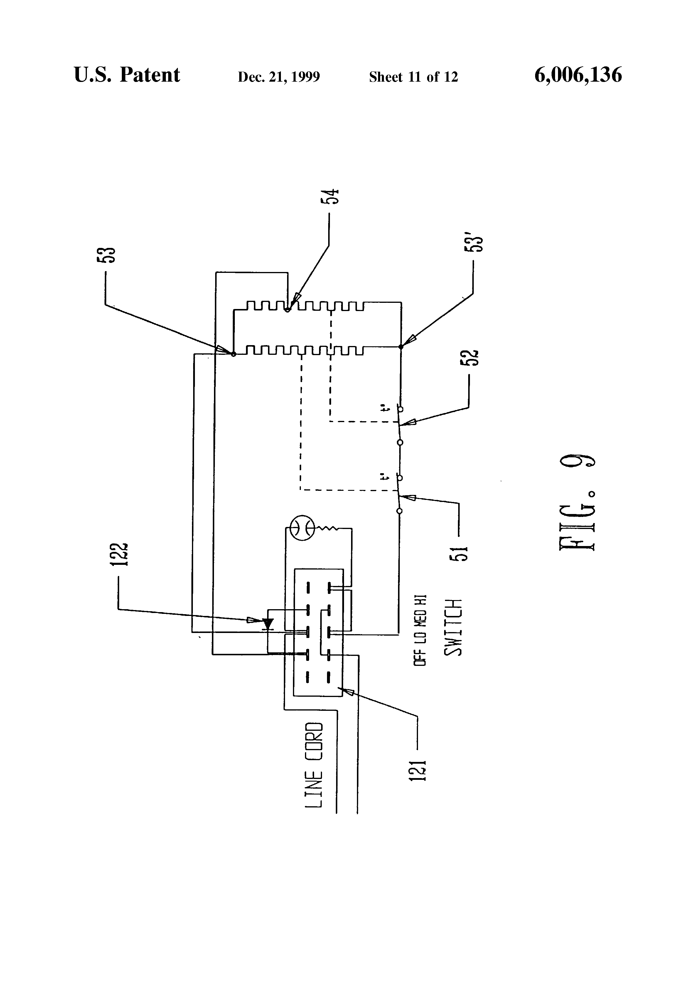 US6006136 11 patent us6006136 heating pad google patents heating pad wiring diagram at aneh.co