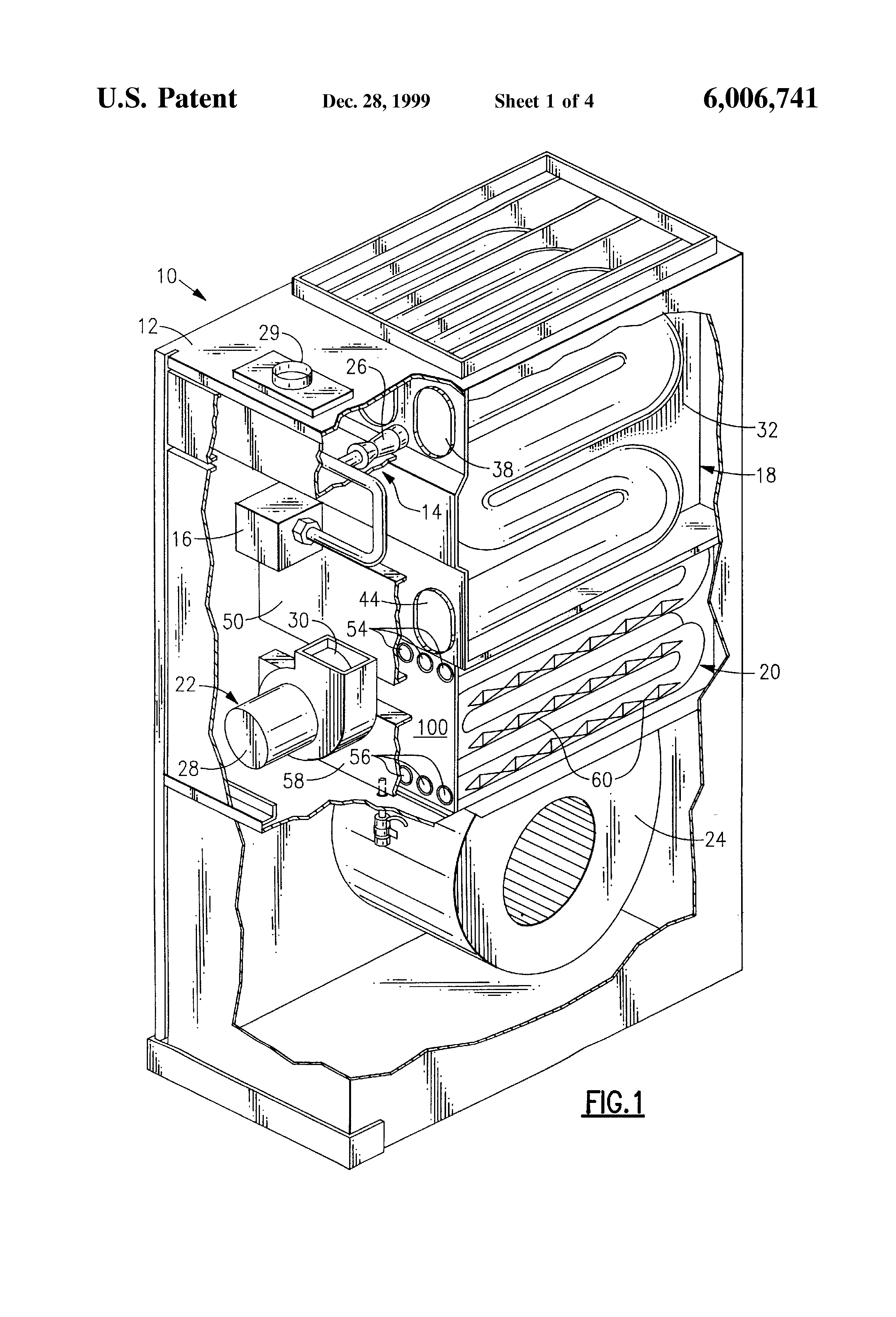 Patent Us6006741 Secondary Heat Exchanger For Condensing
