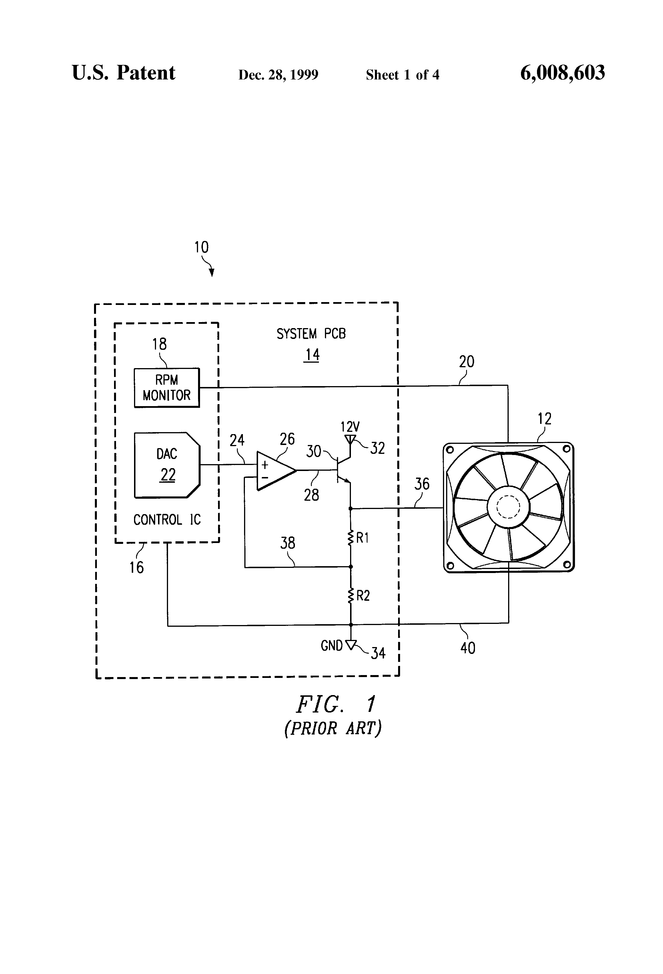 US6008603 1 patent us6008603 brushless dc motor assembly control circuit brushless motor wiring diagram at crackthecode.co