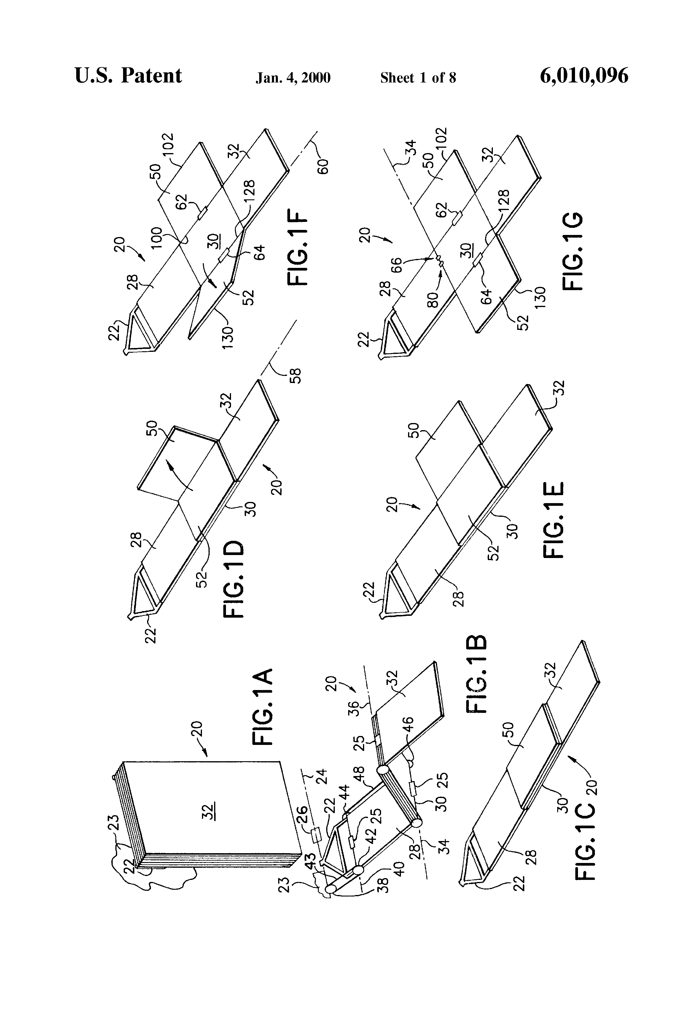 Brevetto Us6010096 Deployment Restraint And Sequencing