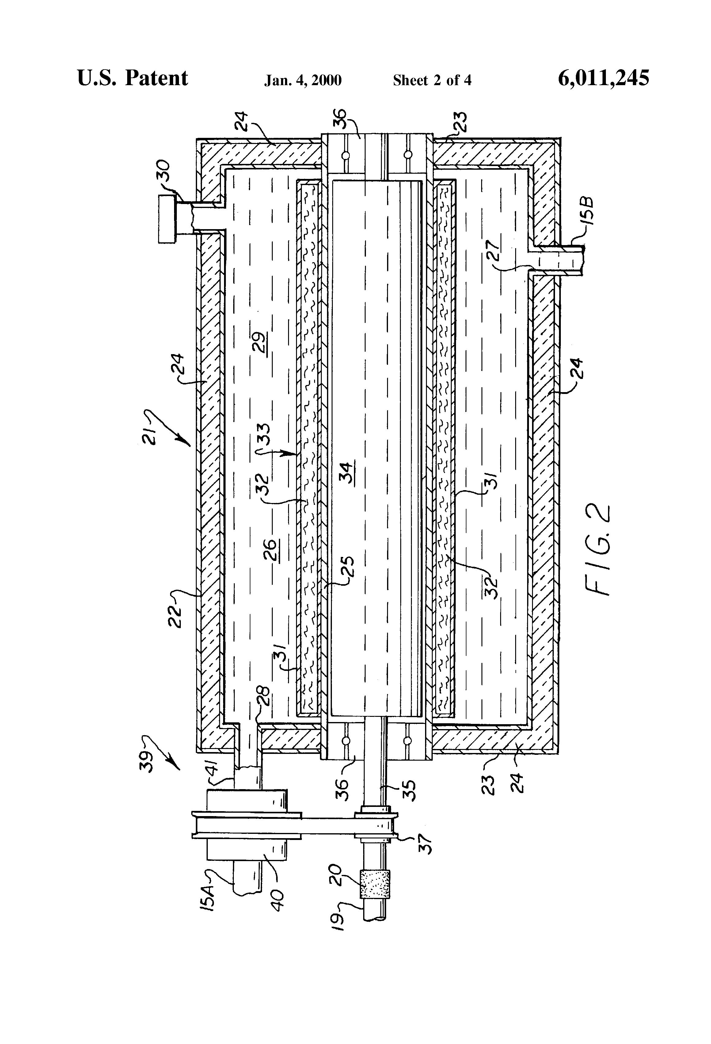 patent us6011245 - permanent magnet eddy current heat generator