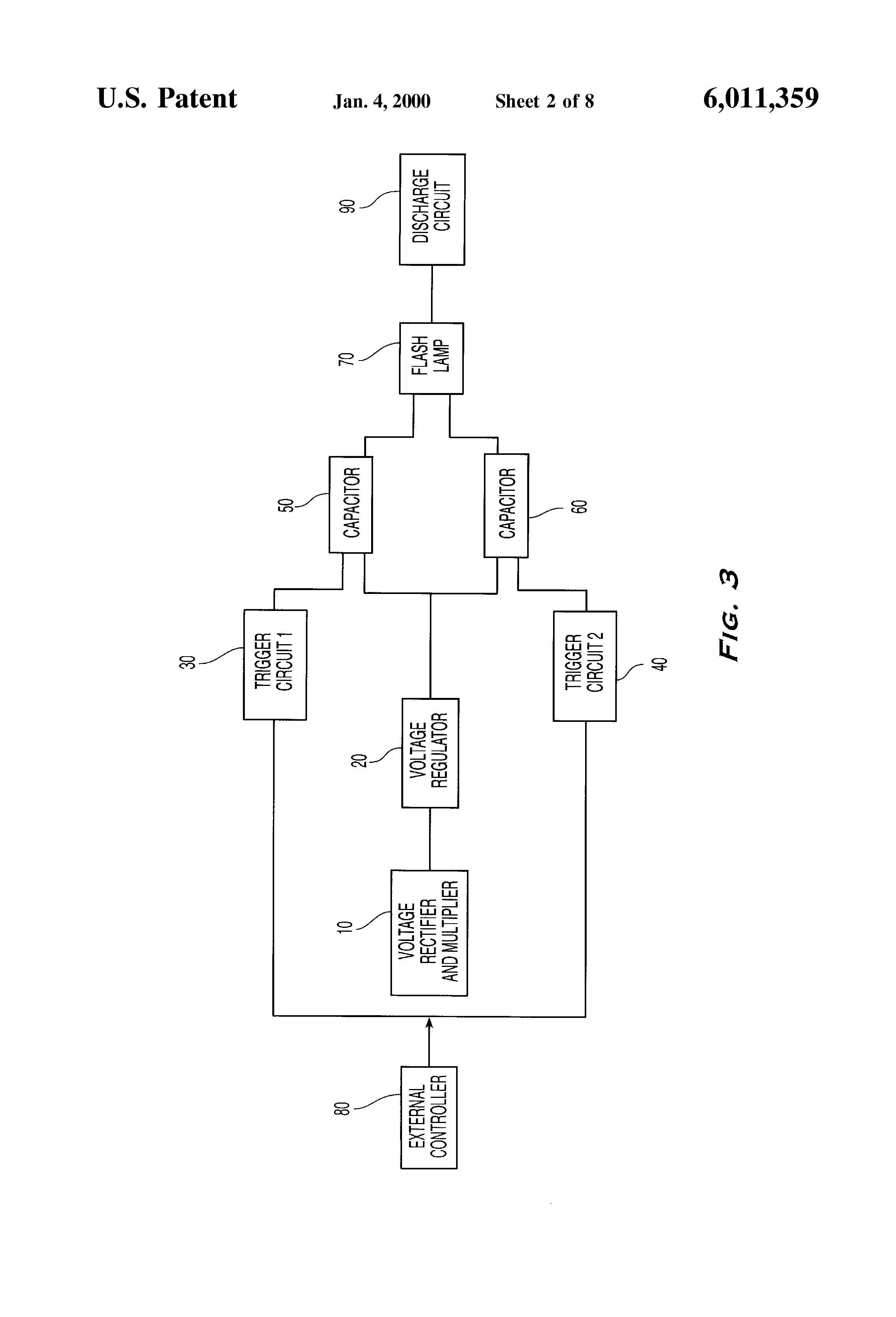 Patent Us6011359 Multiple Flash Single Lamp Circuit For Fast Amp Circuits Op Ic Amplifier Integrated Circuitsdigital Analog Drawing
