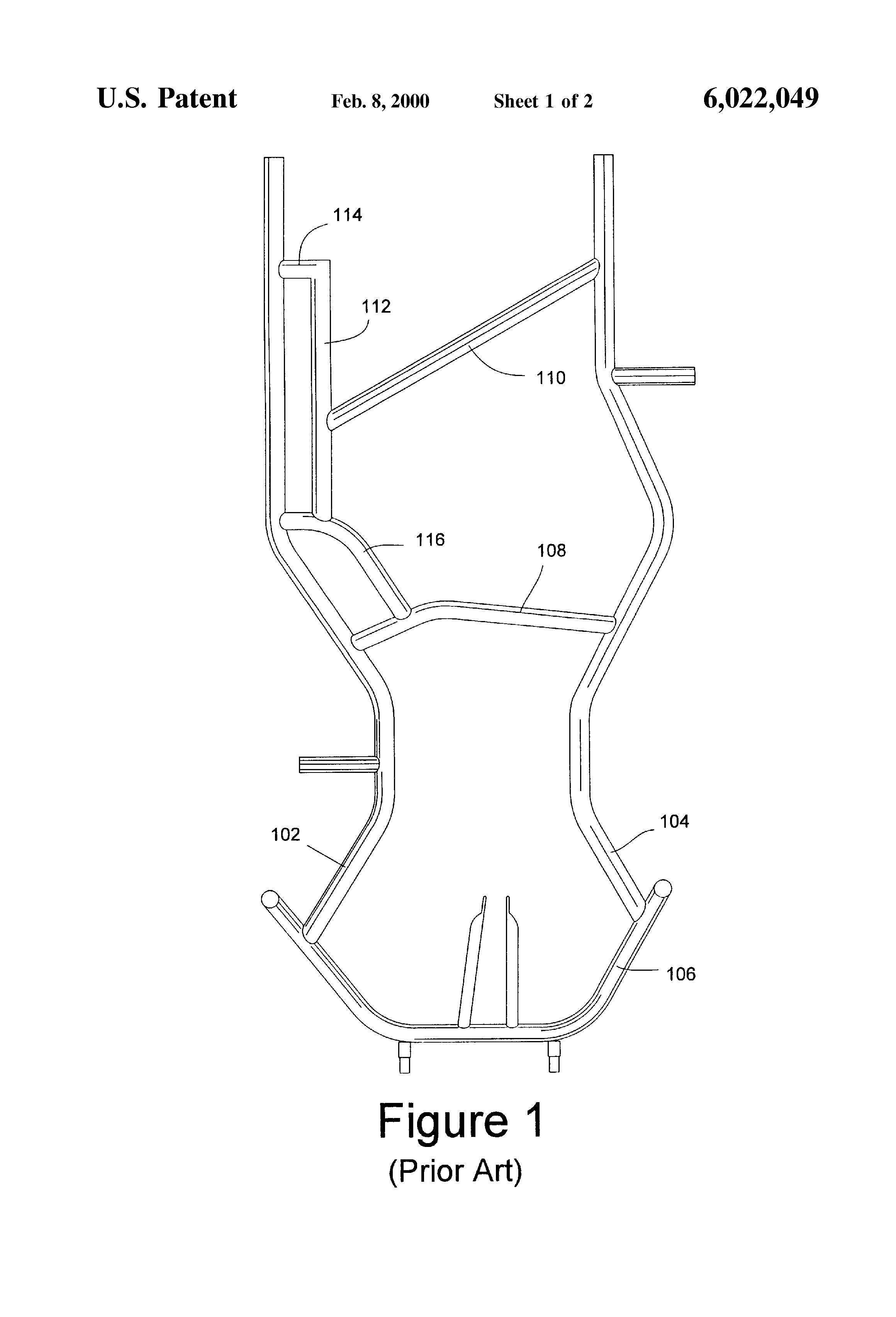 how to draw a go kart frame