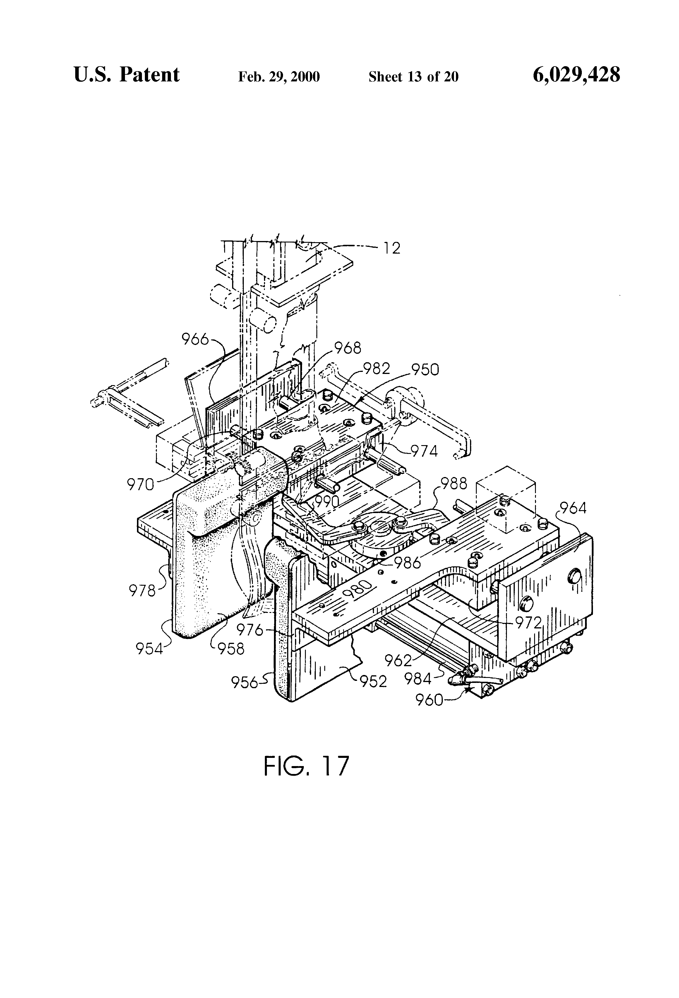 US6029428 14 patent us6029428 convertible form, fill and seal packaging  at fashall.co
