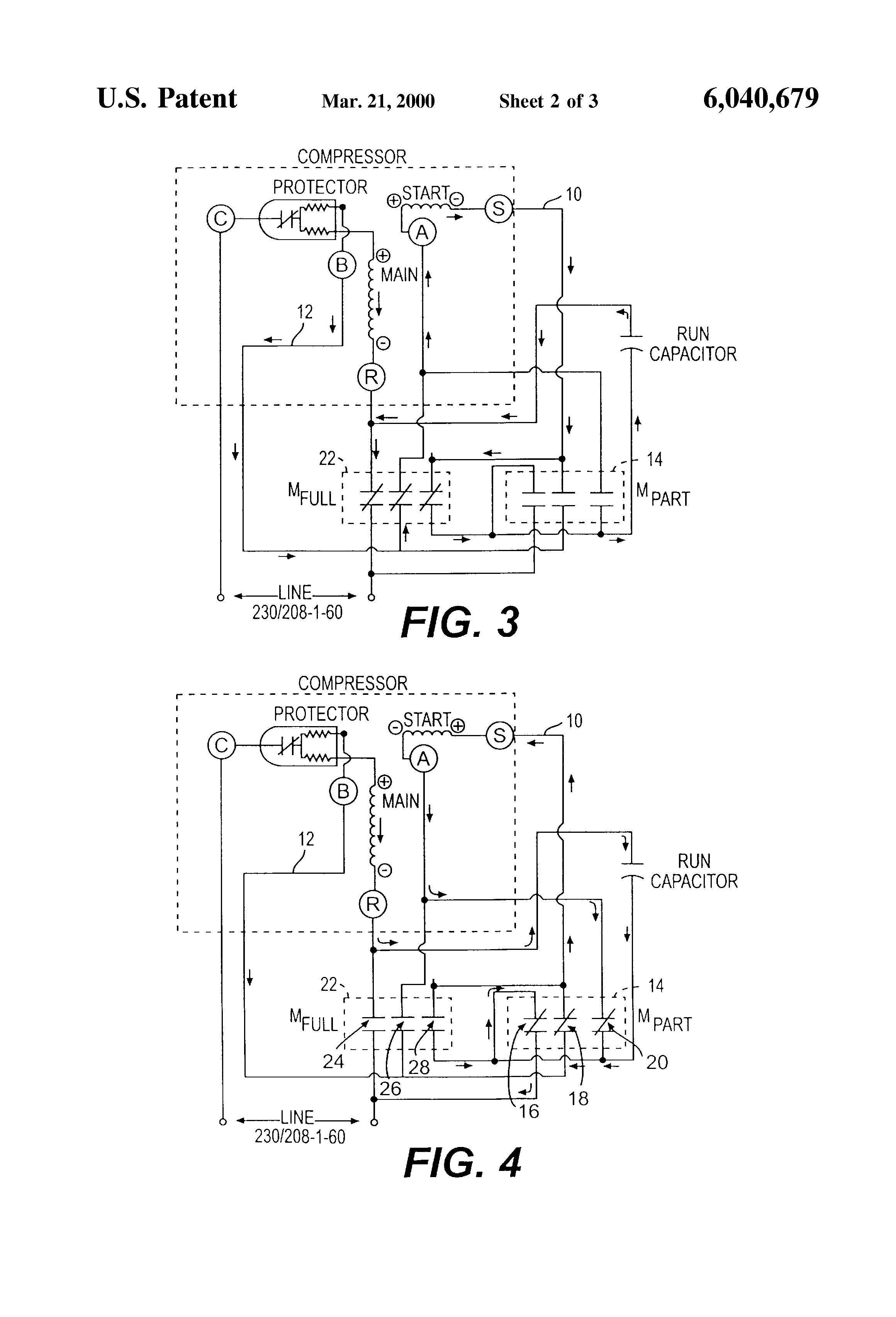 US6040679 2 patent us6040679 variable capacity compressor having two step copeland potential relay wiring diagram at mifinder.co