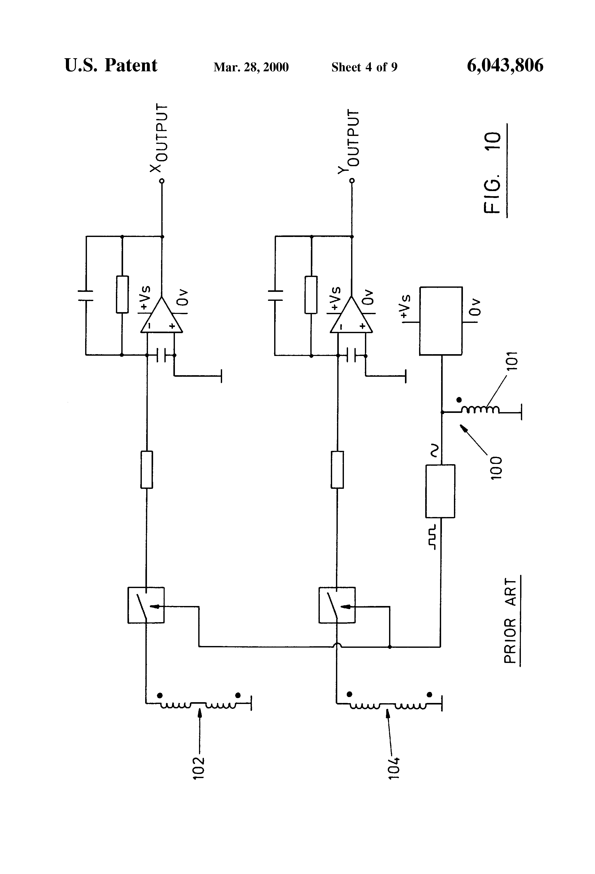 Sauer Danfoss Joystick Wiring Diagram 37 Images Pressure Switch Us6043806 4 Patent Inductive And Signal Processing At Cita