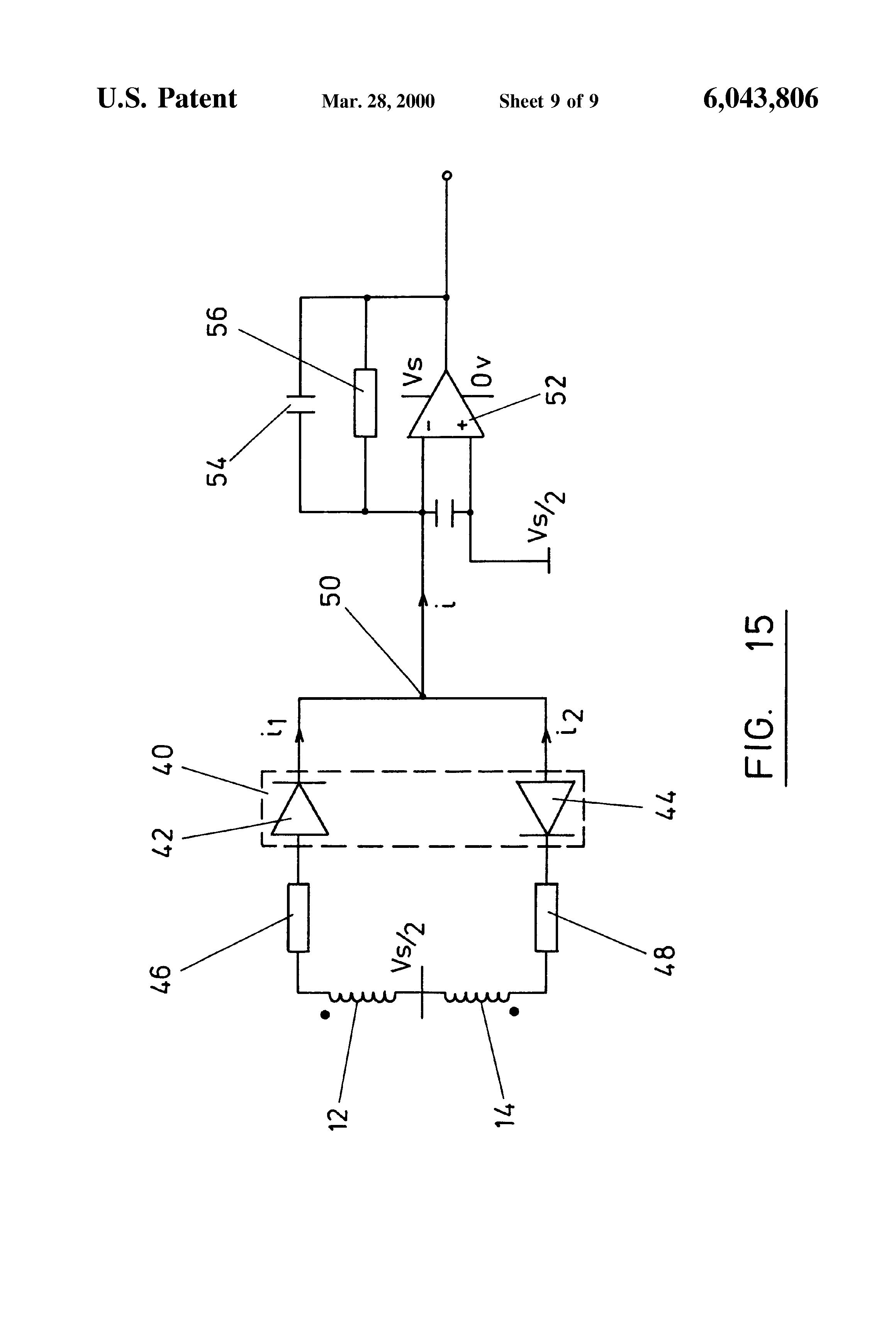 US6043806 9 patent us6043806 inductive joystick and signal processing sauer danfoss joystick wiring diagram at n-0.co