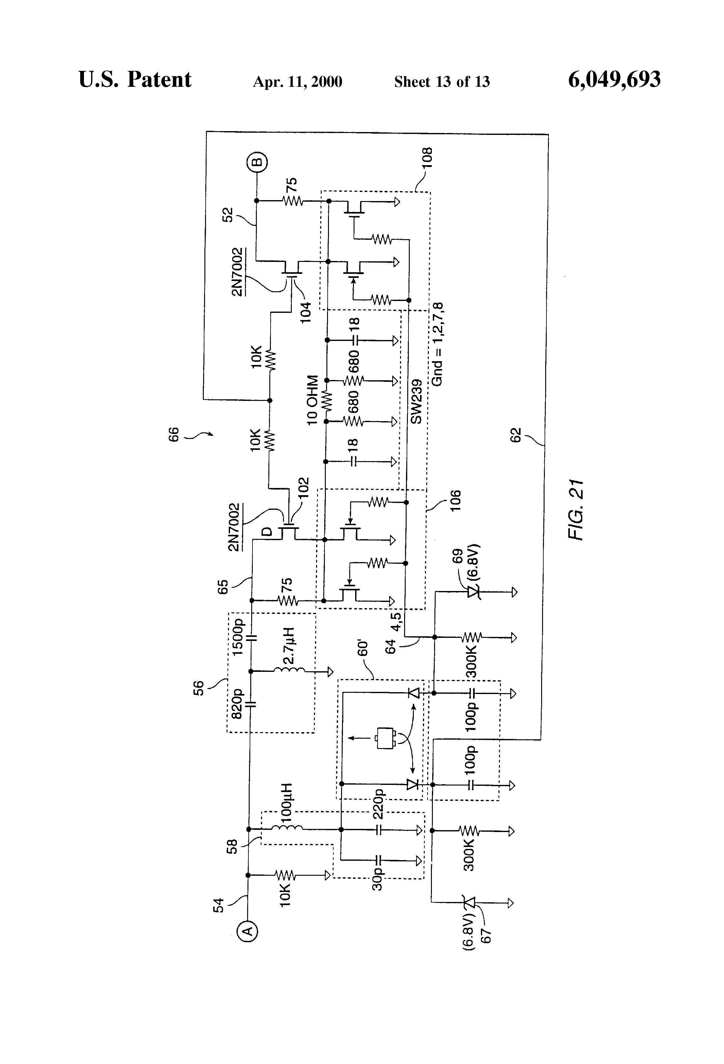 patent us6049693