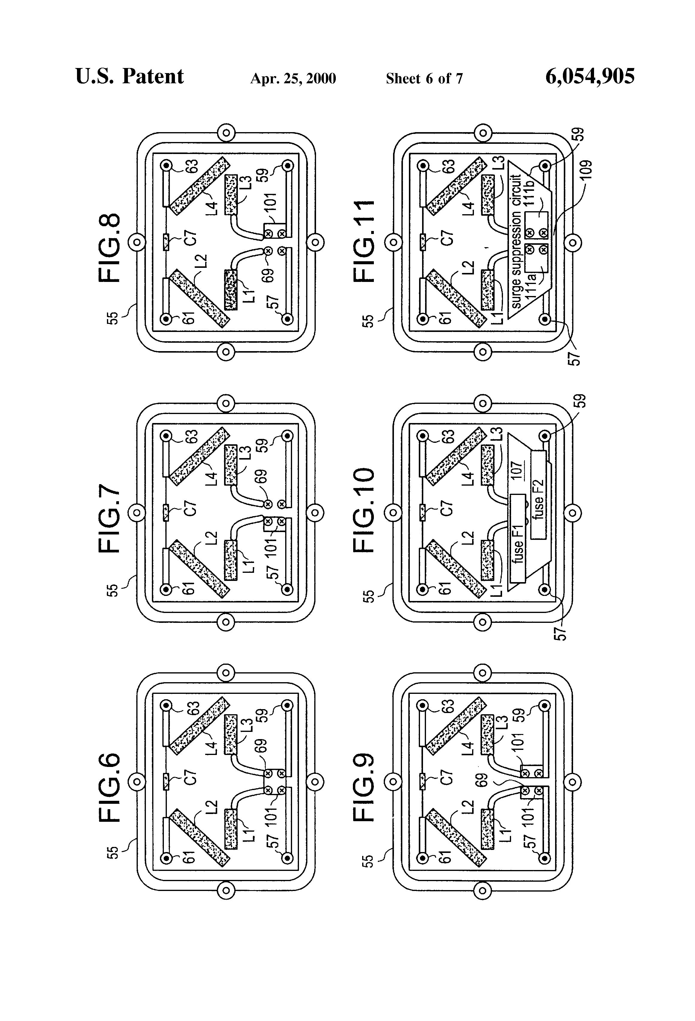 patent us6054905