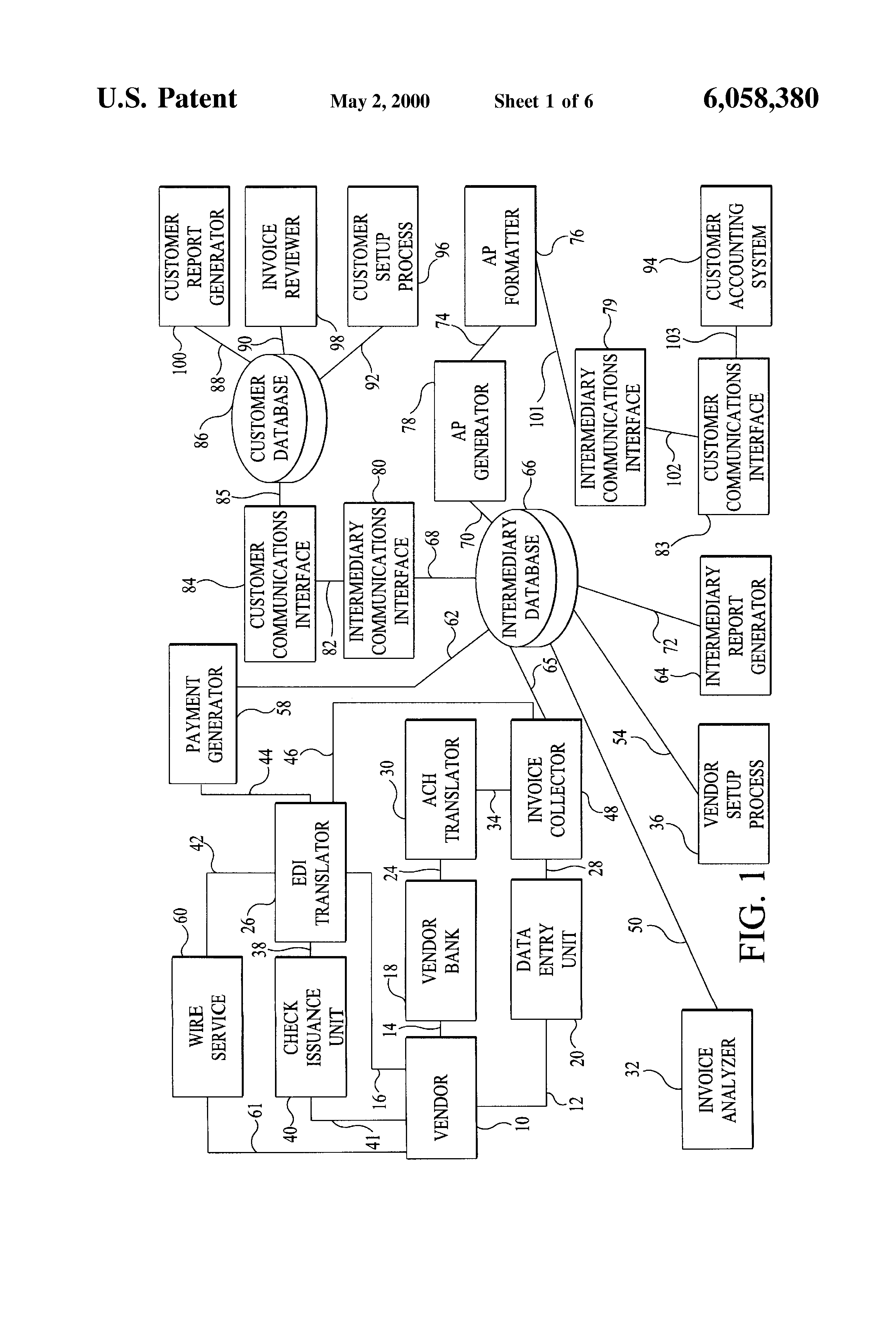 Google Invoice Word Patent Us  System And Method For Electronically Processing  Invoice Word Template Excel with Dealer Invoice By Vin Word Patent Drawing On Receipt Of Payment Excel