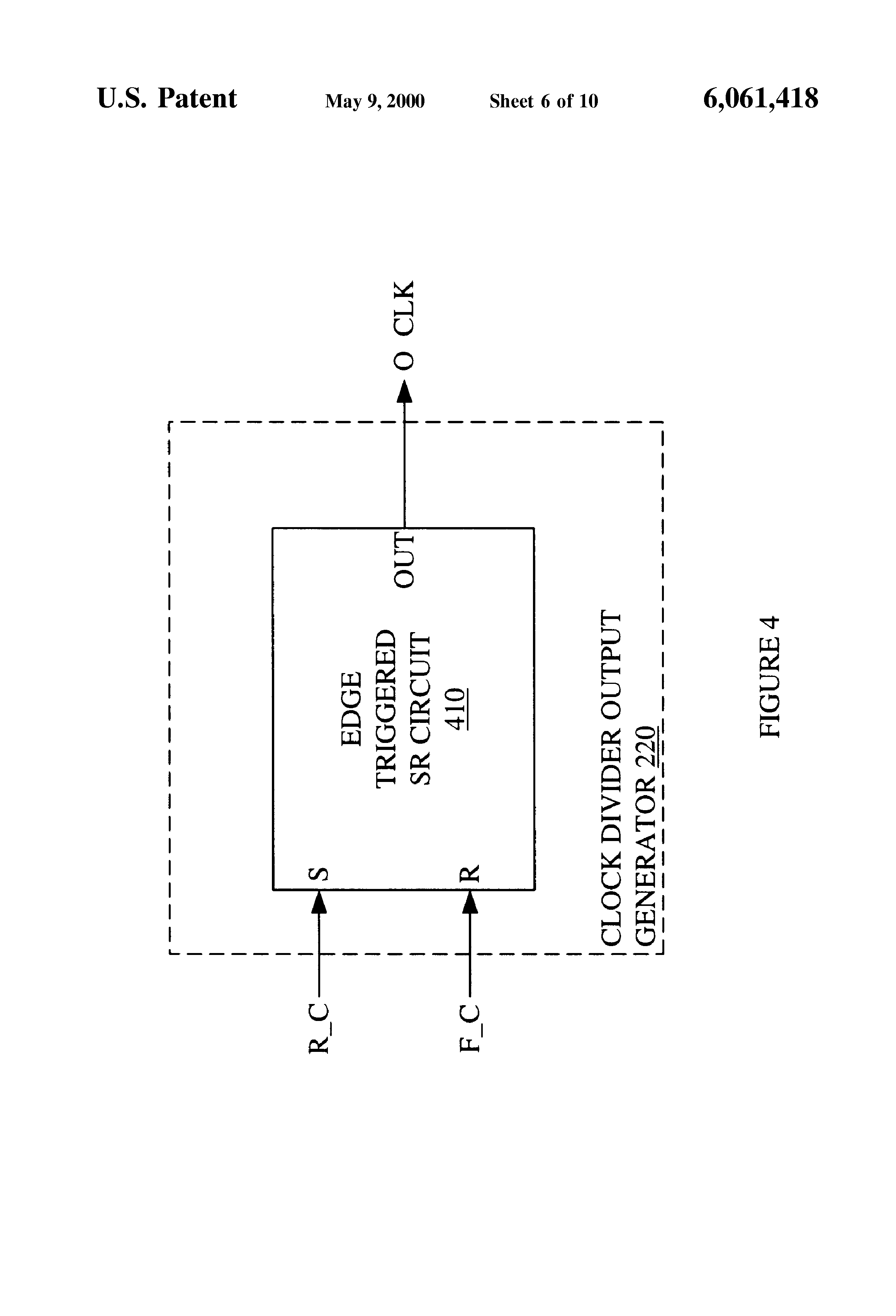 Patent Us6061418 Variable Clock Divider With Selectable Duty Cycle Threebit Temperature Controller Circuit Controlcircuit Drawing