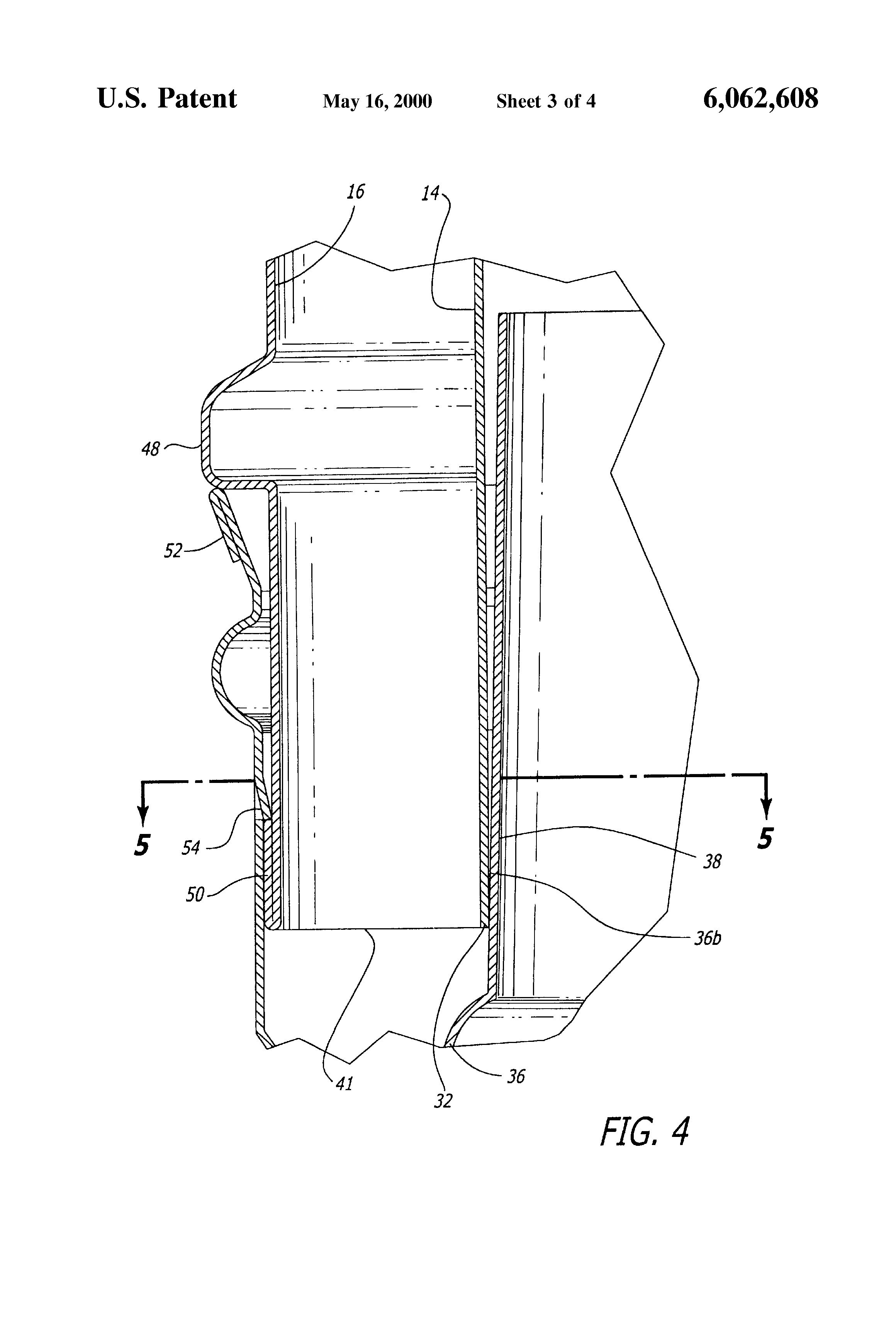 patent us6062608 coaxial flue system for direct vent fireplaces