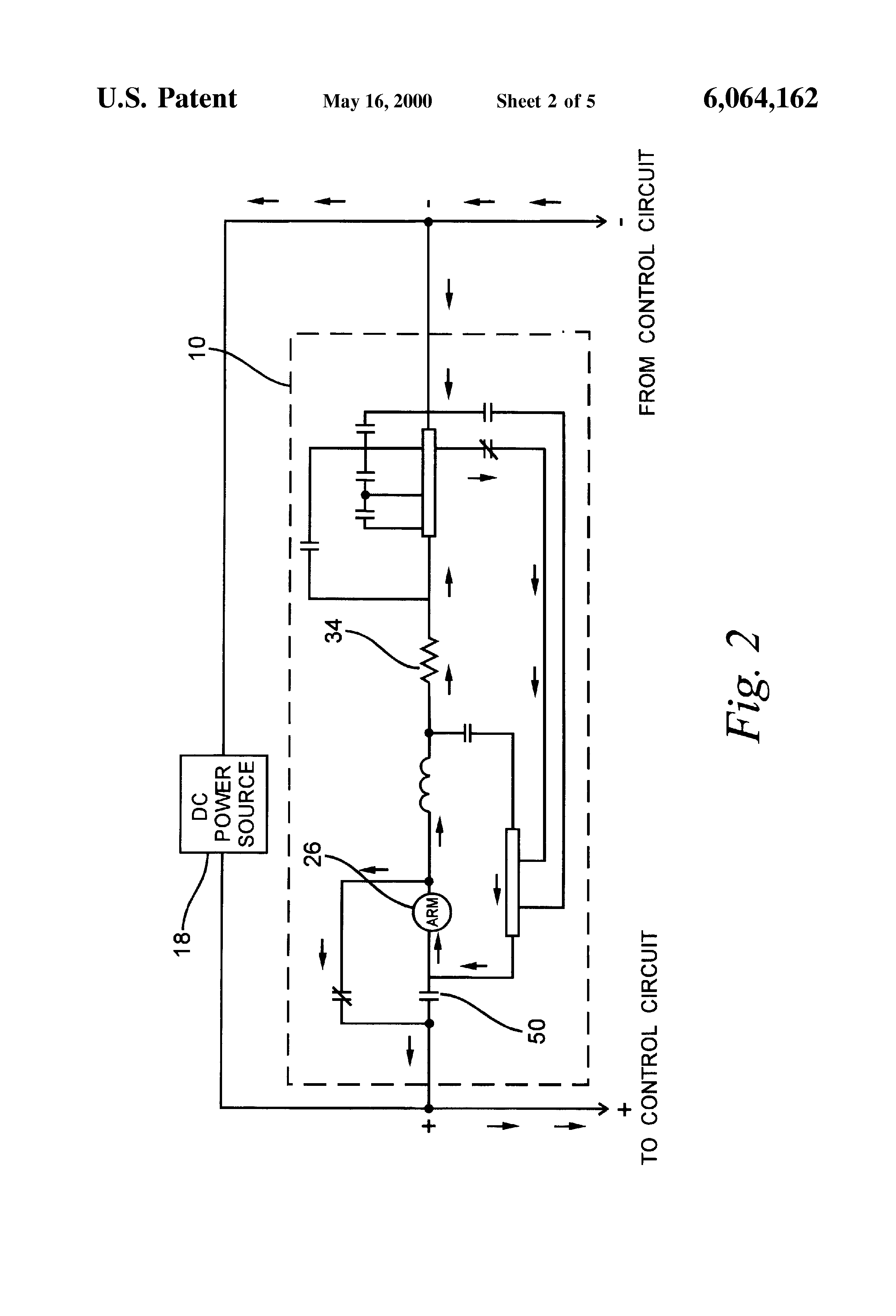Patent Us6064162 Circuit For Automatic Operation Of A Series Brake General Electric Dc Shunt Motor Wiring Diagram Drawing
