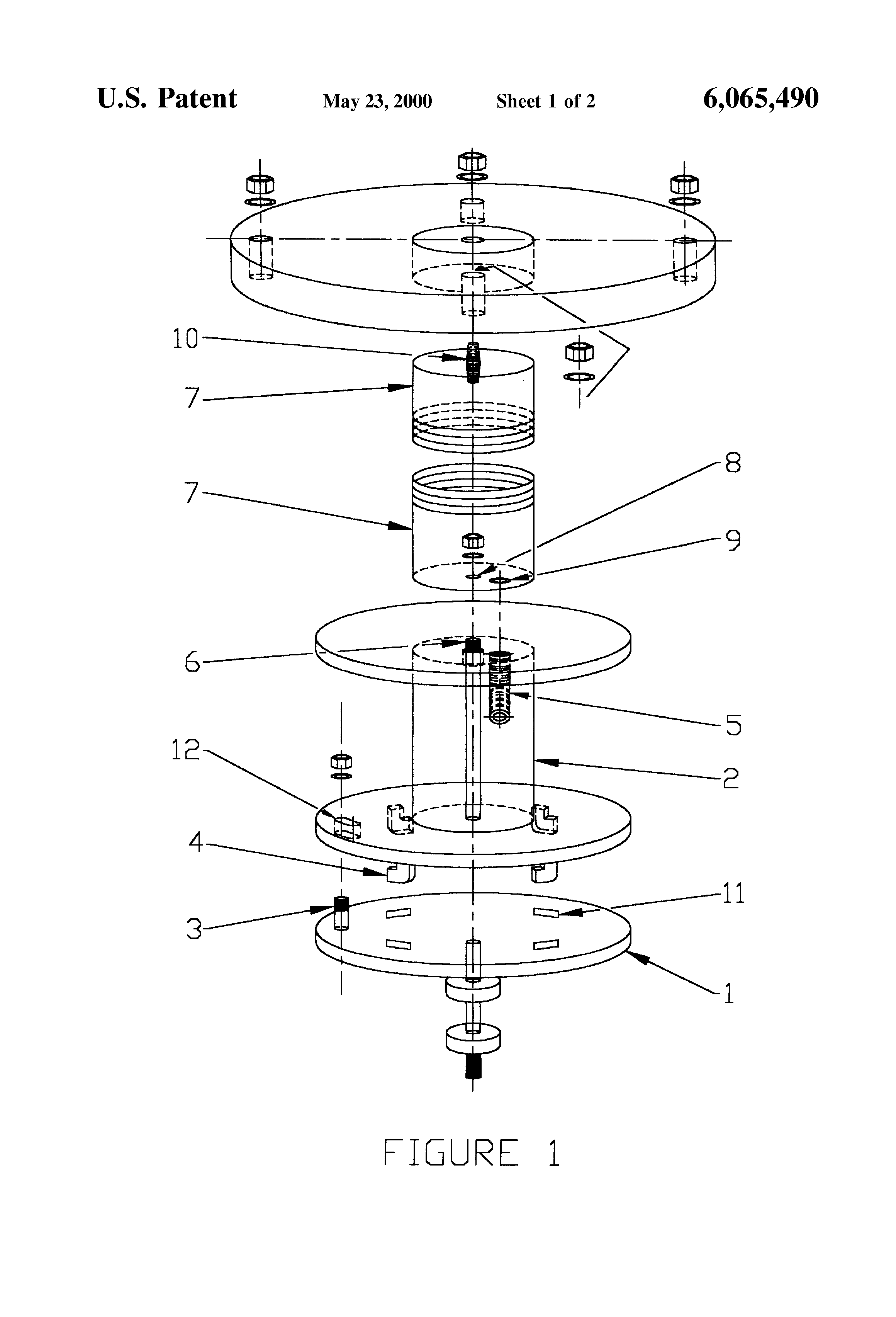 Patent us retractable oxygen supply hose