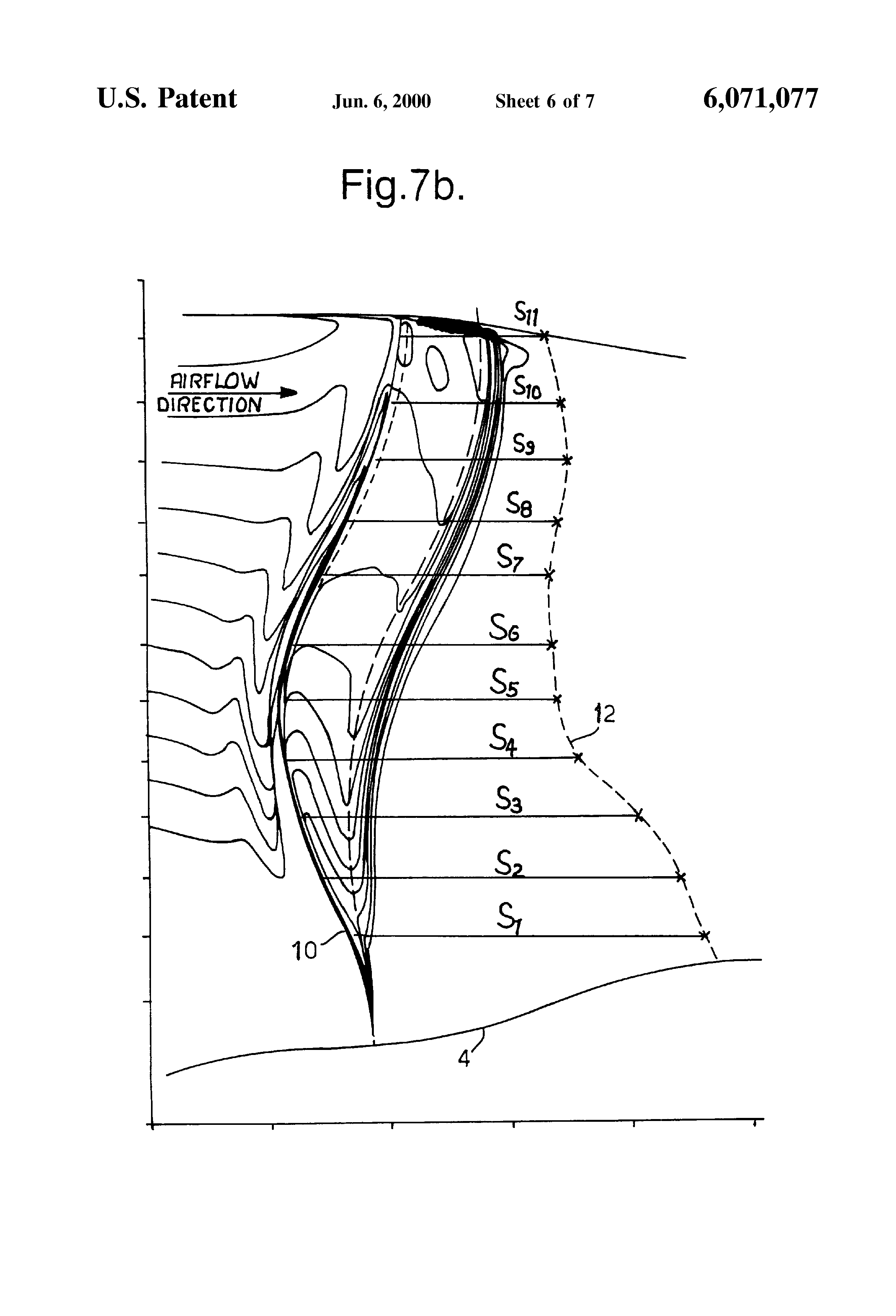 Fan Blade Drawing : Patent us swept fan blade google patents