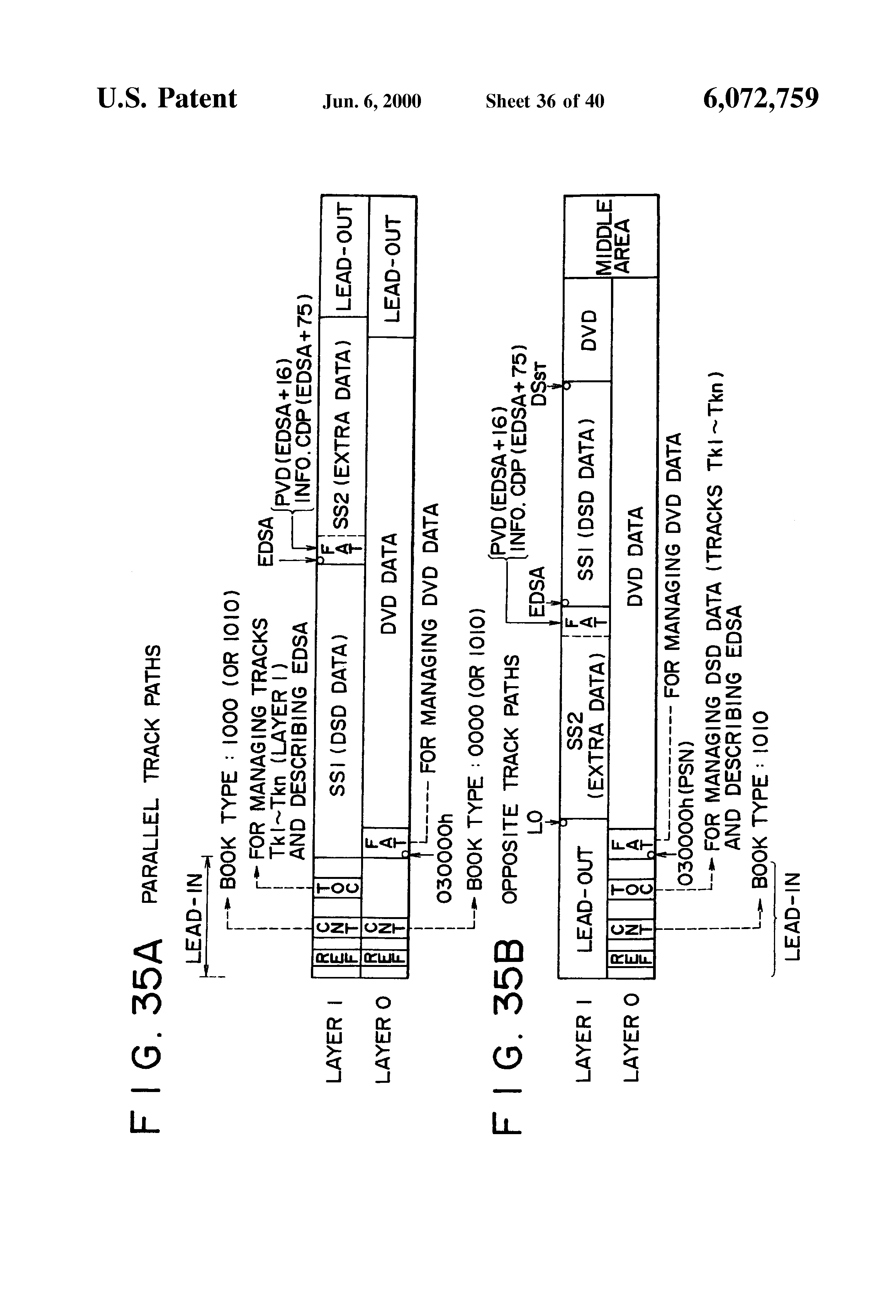 patent us6072759 recording medium format for preventing patent drawing