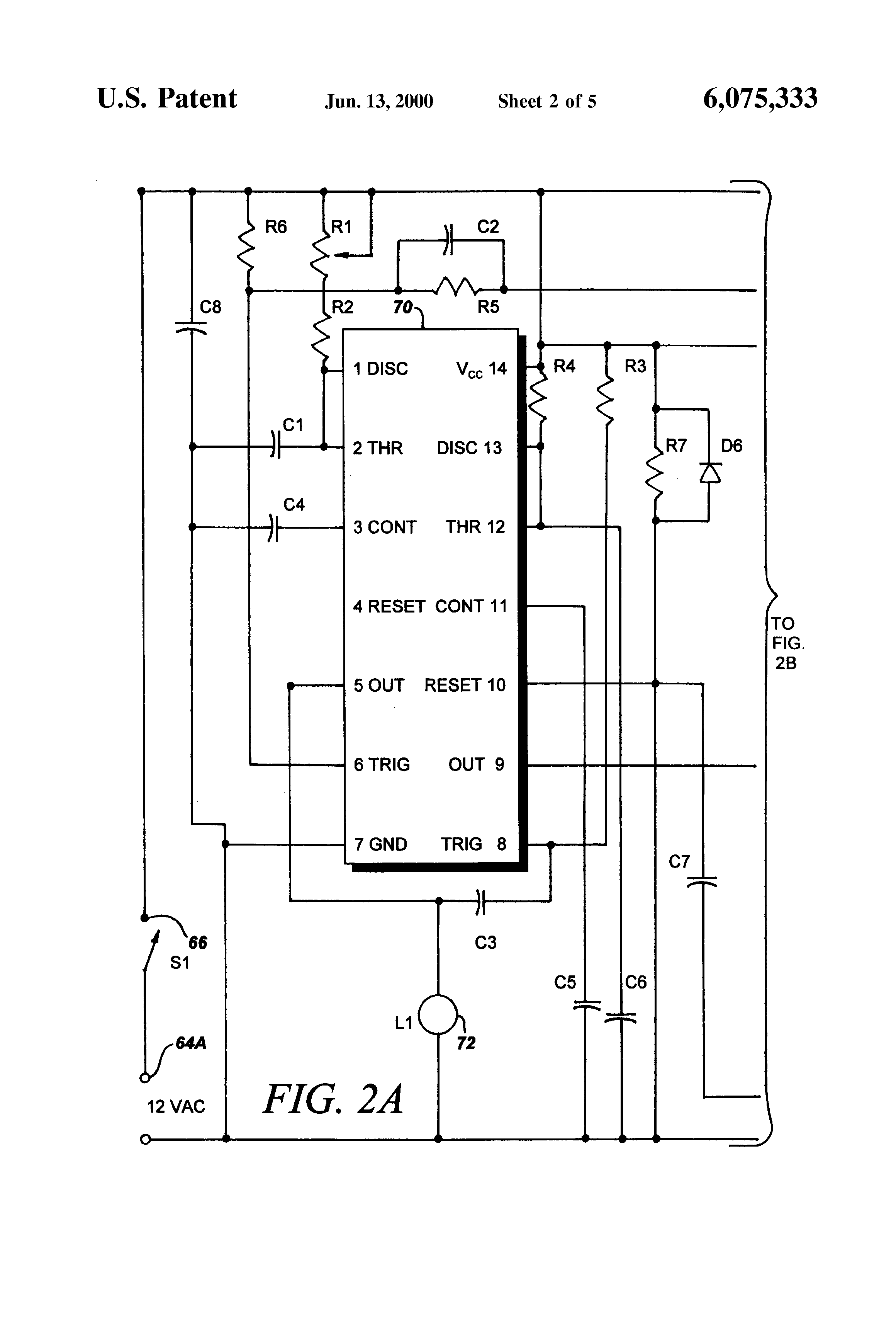 US6075333 2 patent us6075333 kit for retrofitting manually operated electric telectron rd14-6 wiring diagram at highcare.asia