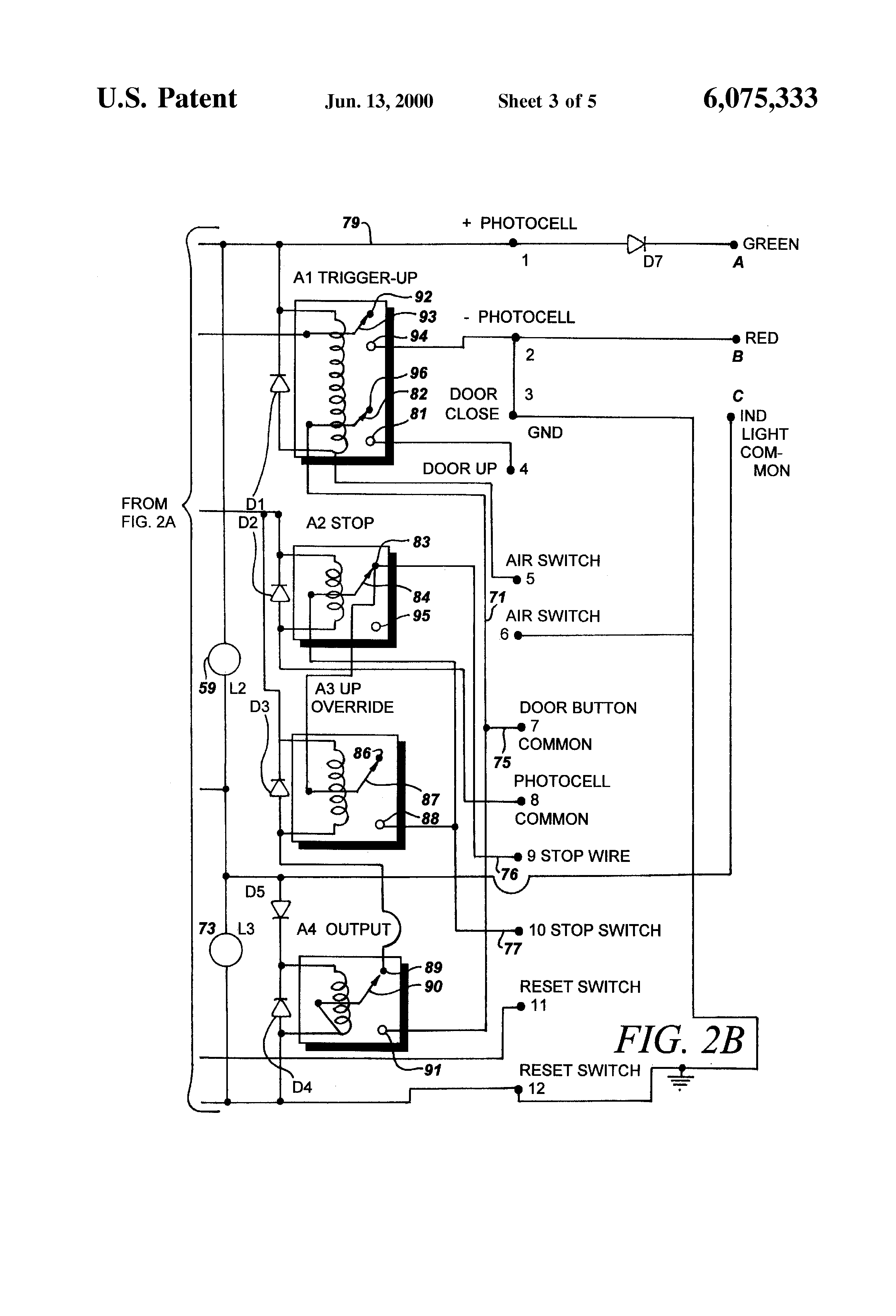 US6075333 3 patent us6075333 kit for retrofitting manually operated electric telectron rd14-6 wiring diagram at fashall.co