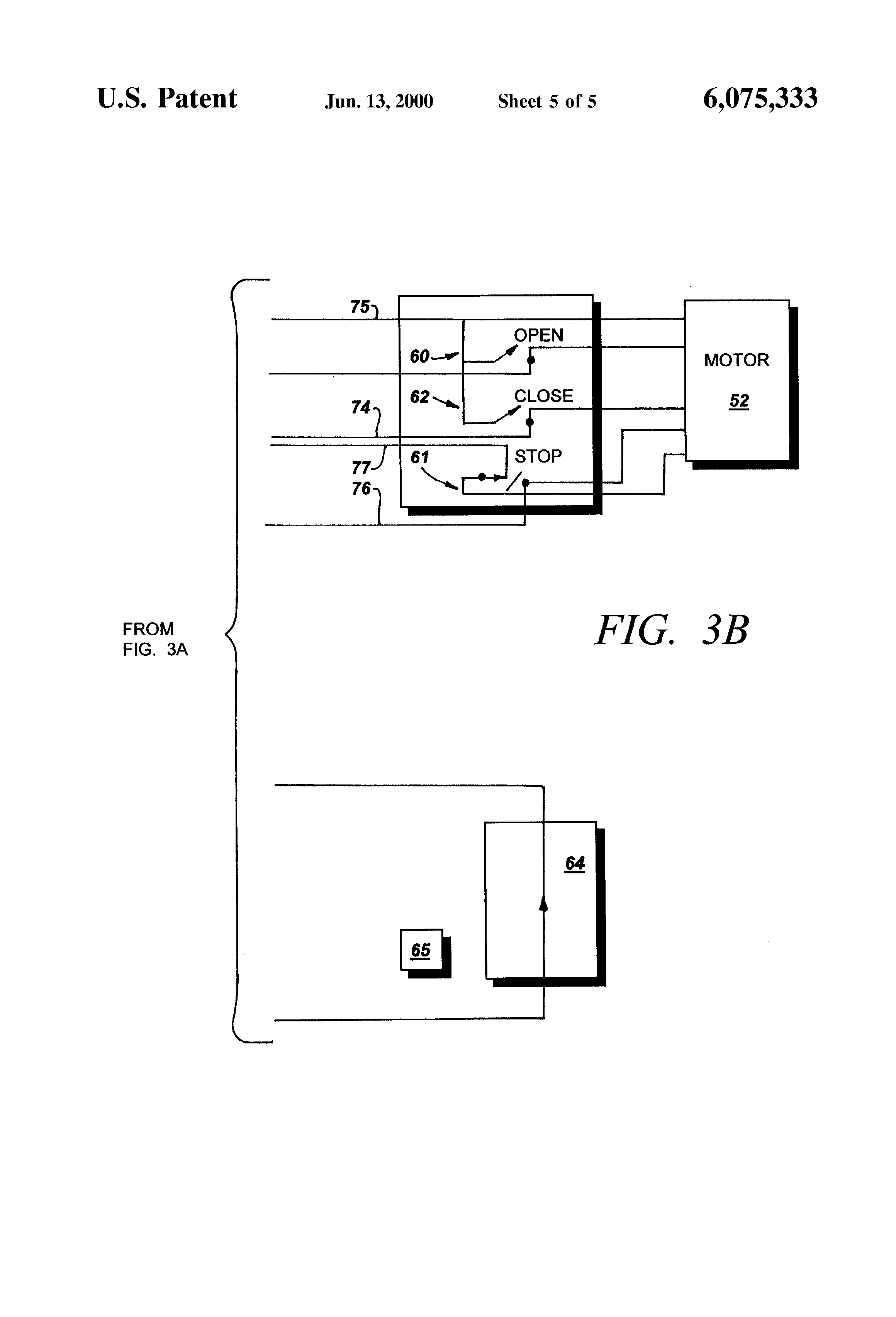 US6075333 5 patent us6075333 kit for retrofitting manually operated electric telectron rd14-6 wiring diagram at fashall.co