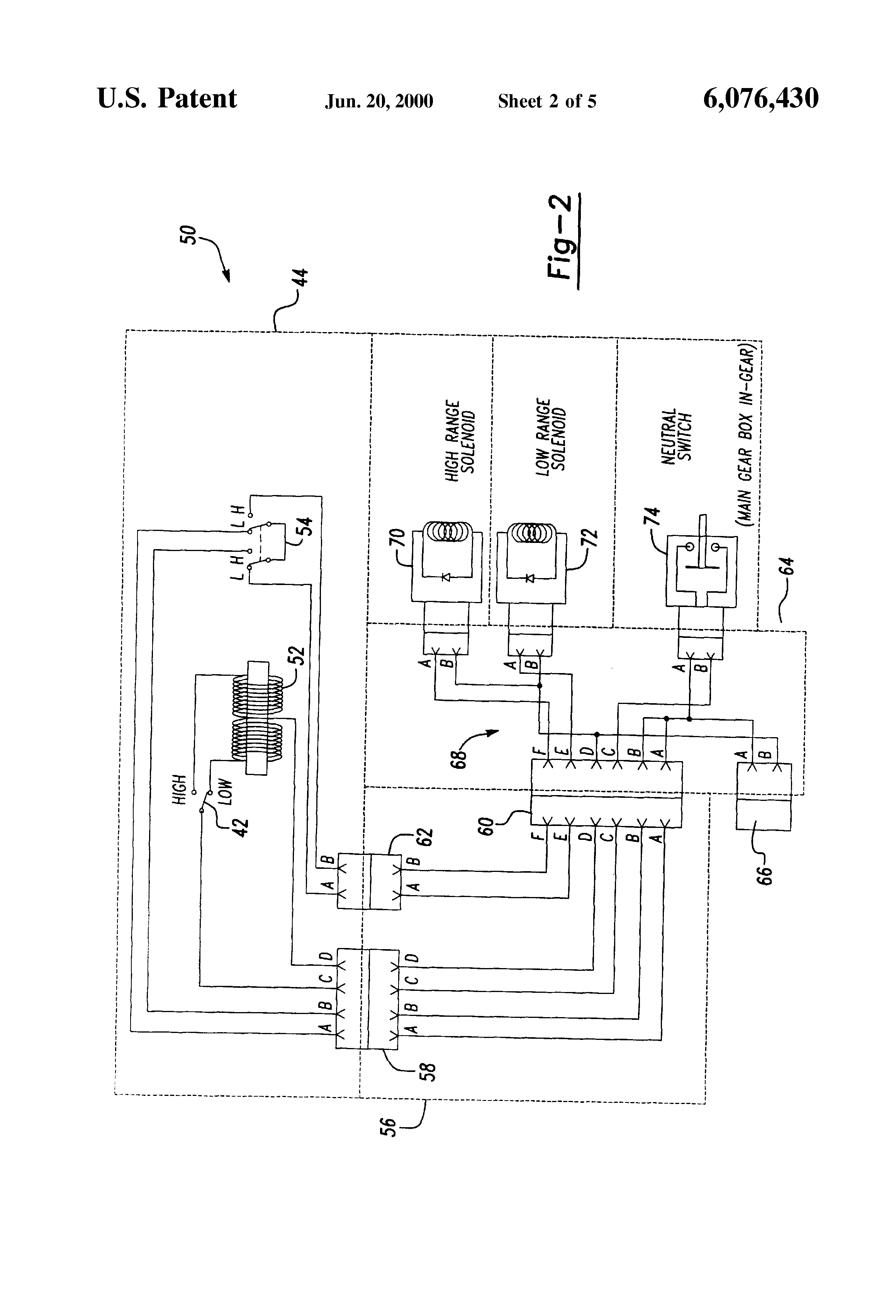 US6076430 2 eaton transmission wiring harness eaton wiring diagrams collection  at webbmarketing.co
