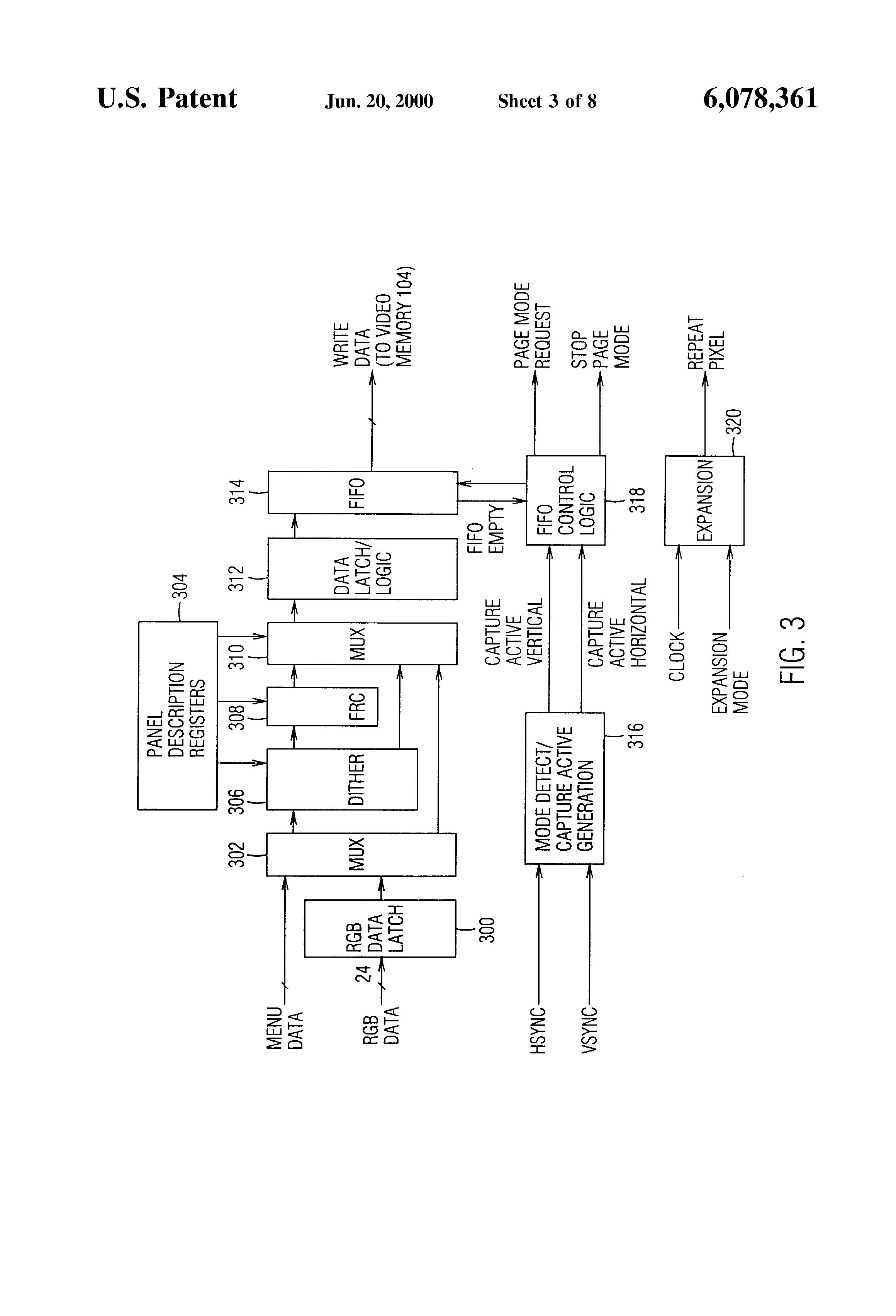 patent us video adapter circuit for conversion of an patent drawing