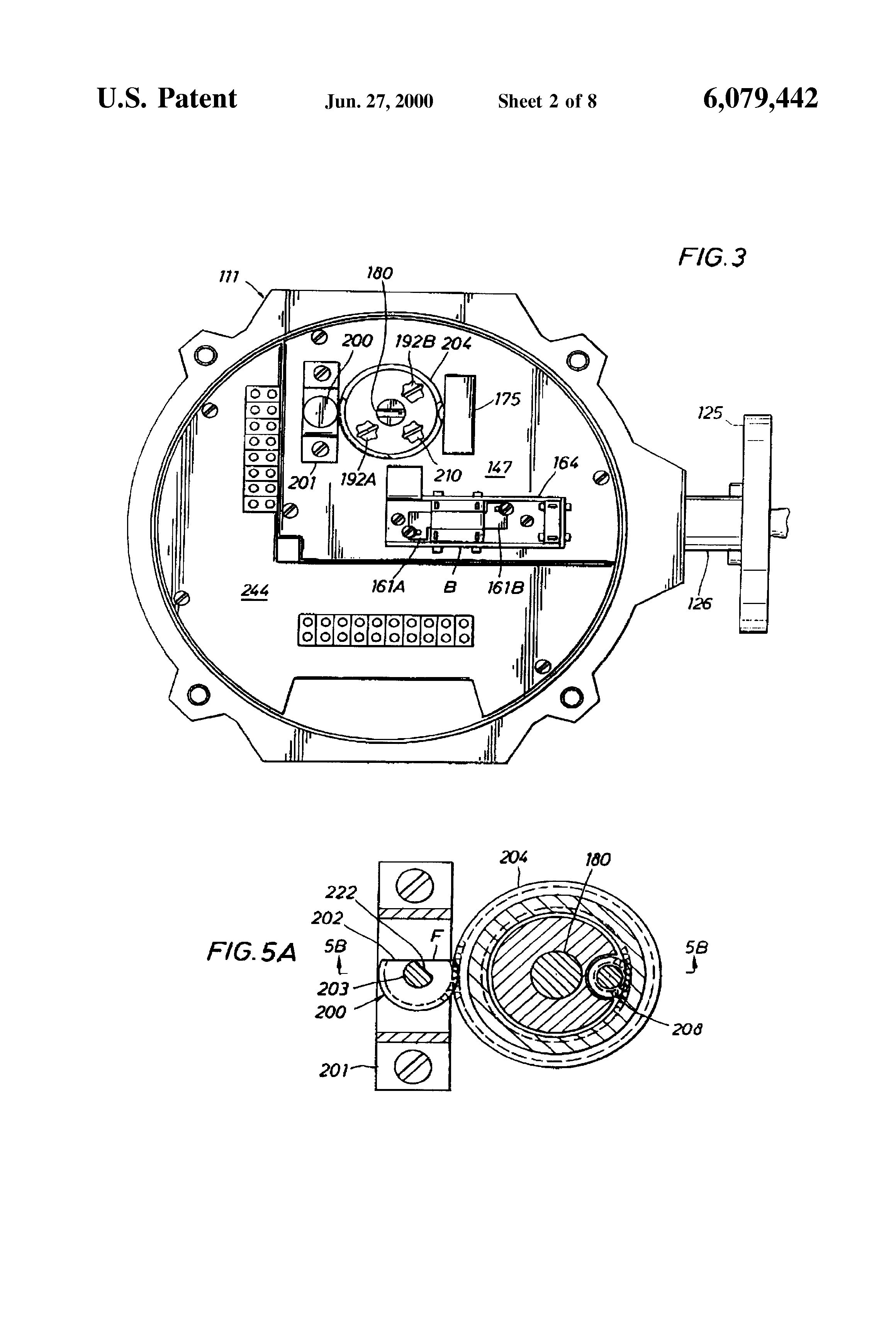 US6079442 2 patent us6079442 valve actuator google patents limitorque l120 wiring diagram at mifinder.co