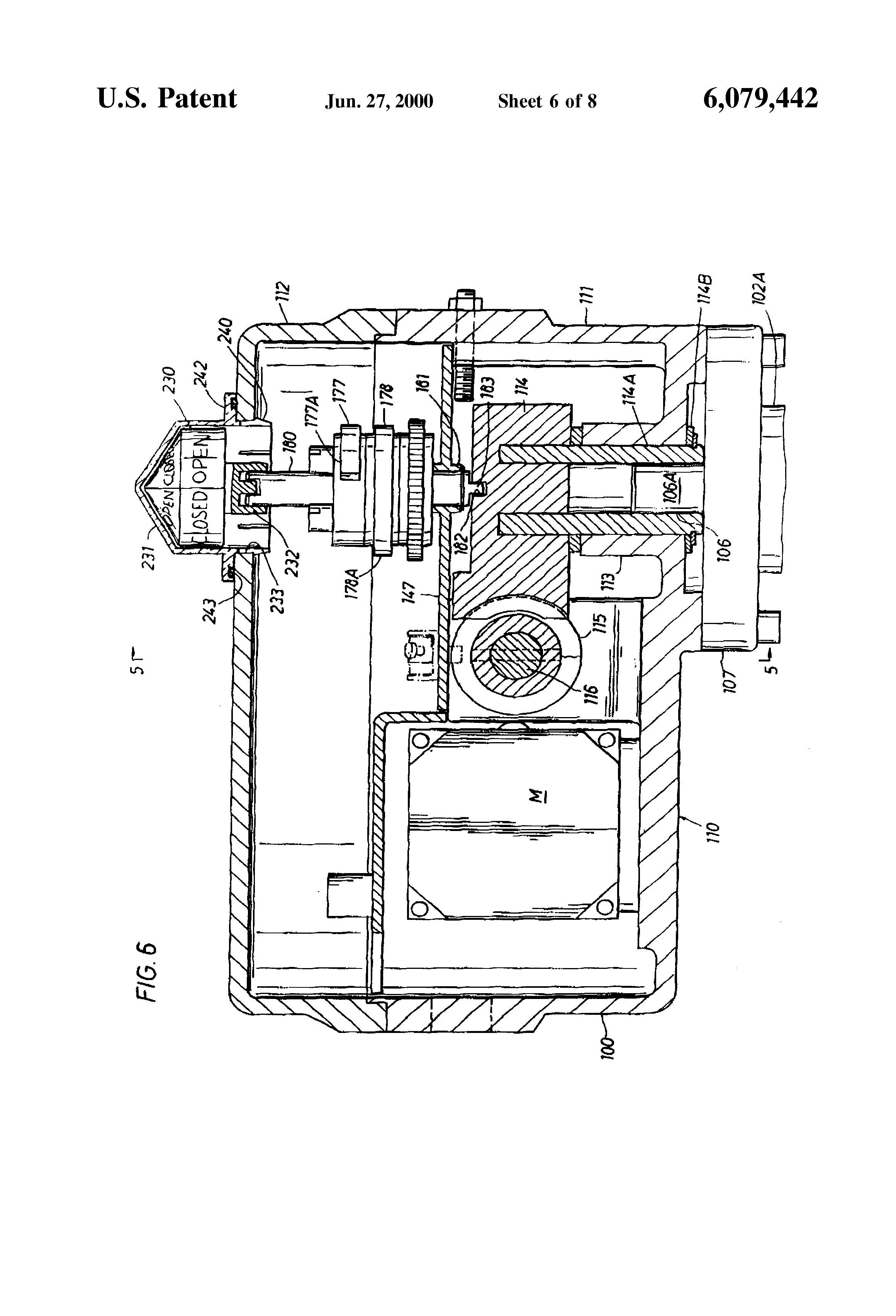 Patent Us6079442 - Valve Actuator