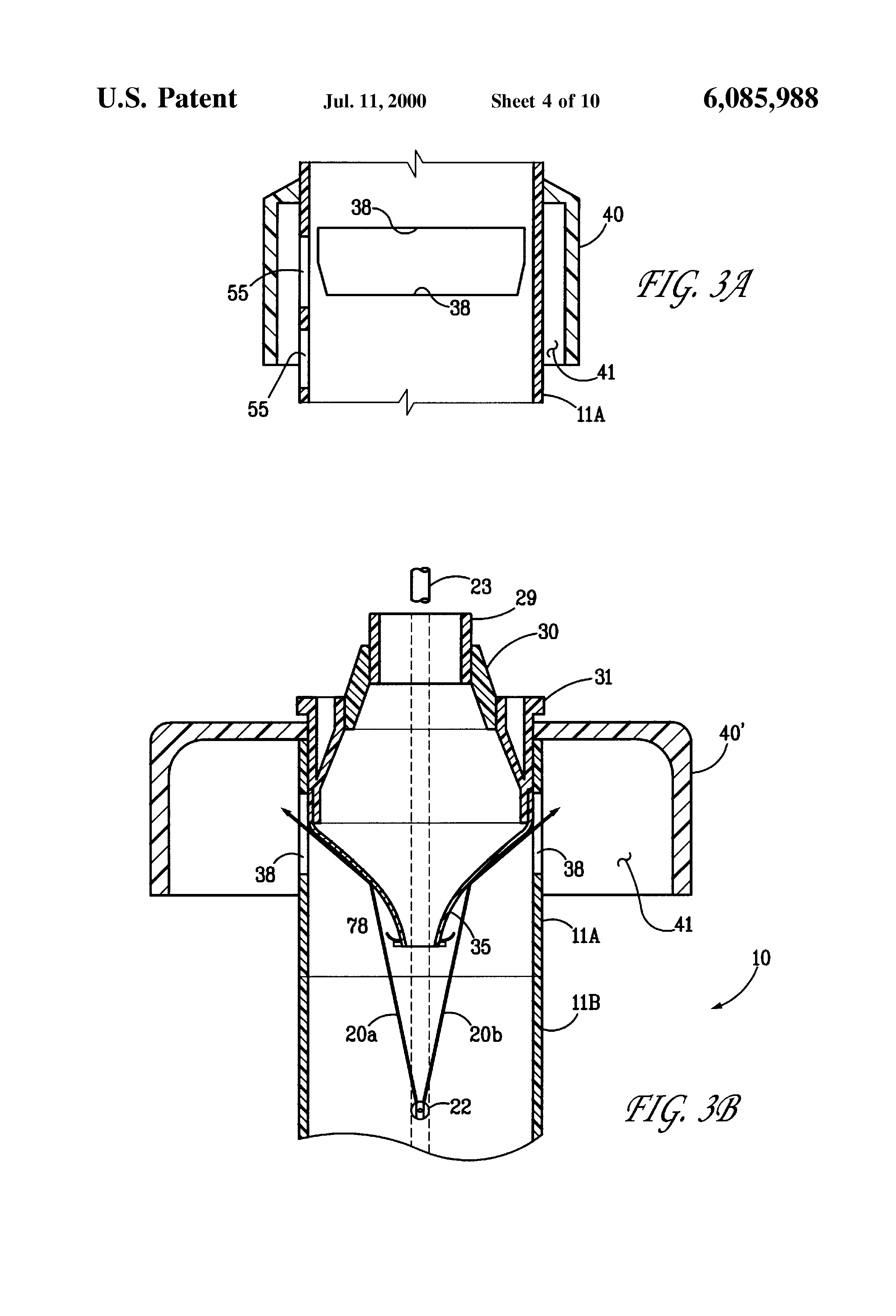 Patent us laminar flow vertical jet stream nozzle