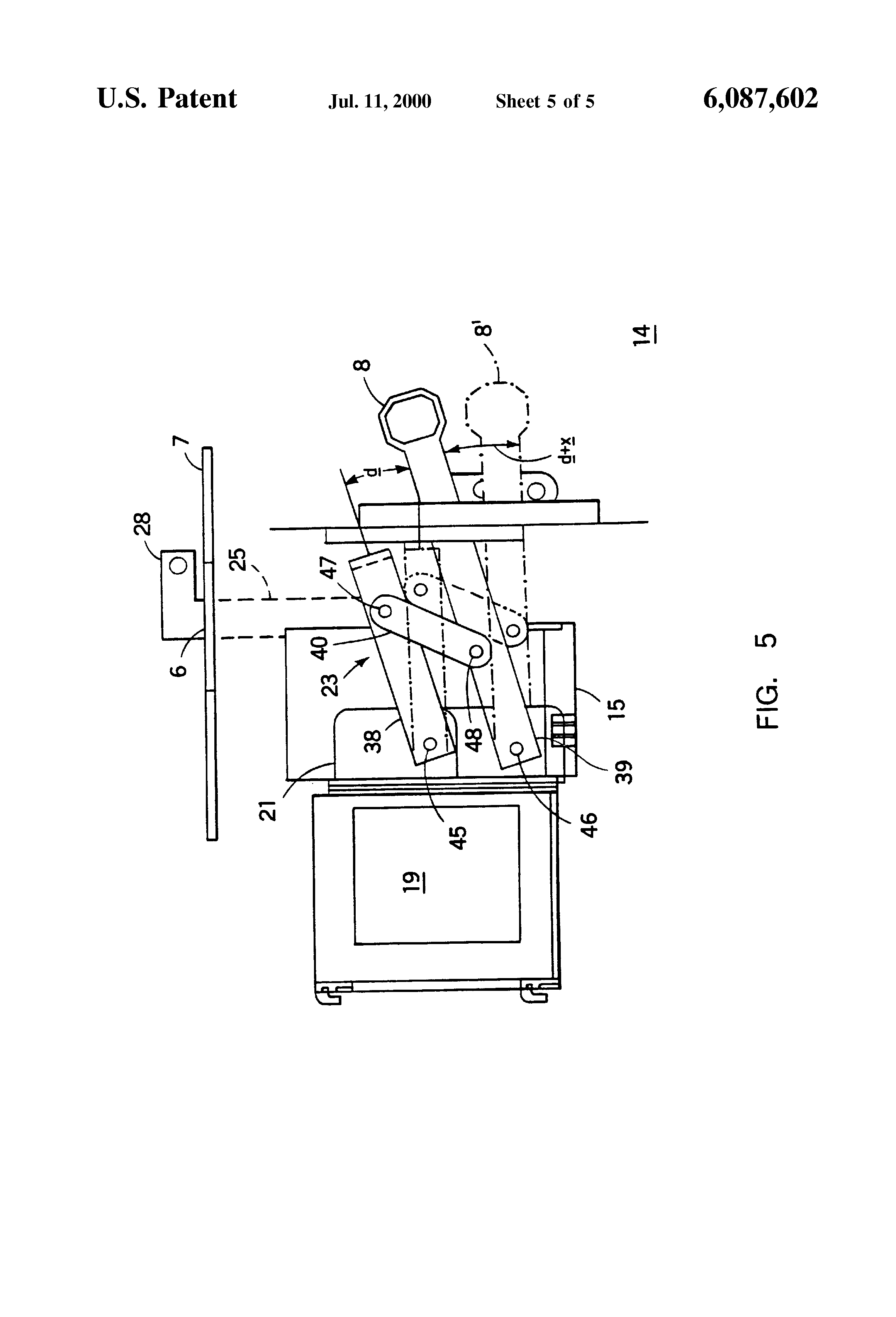 patent us6087602