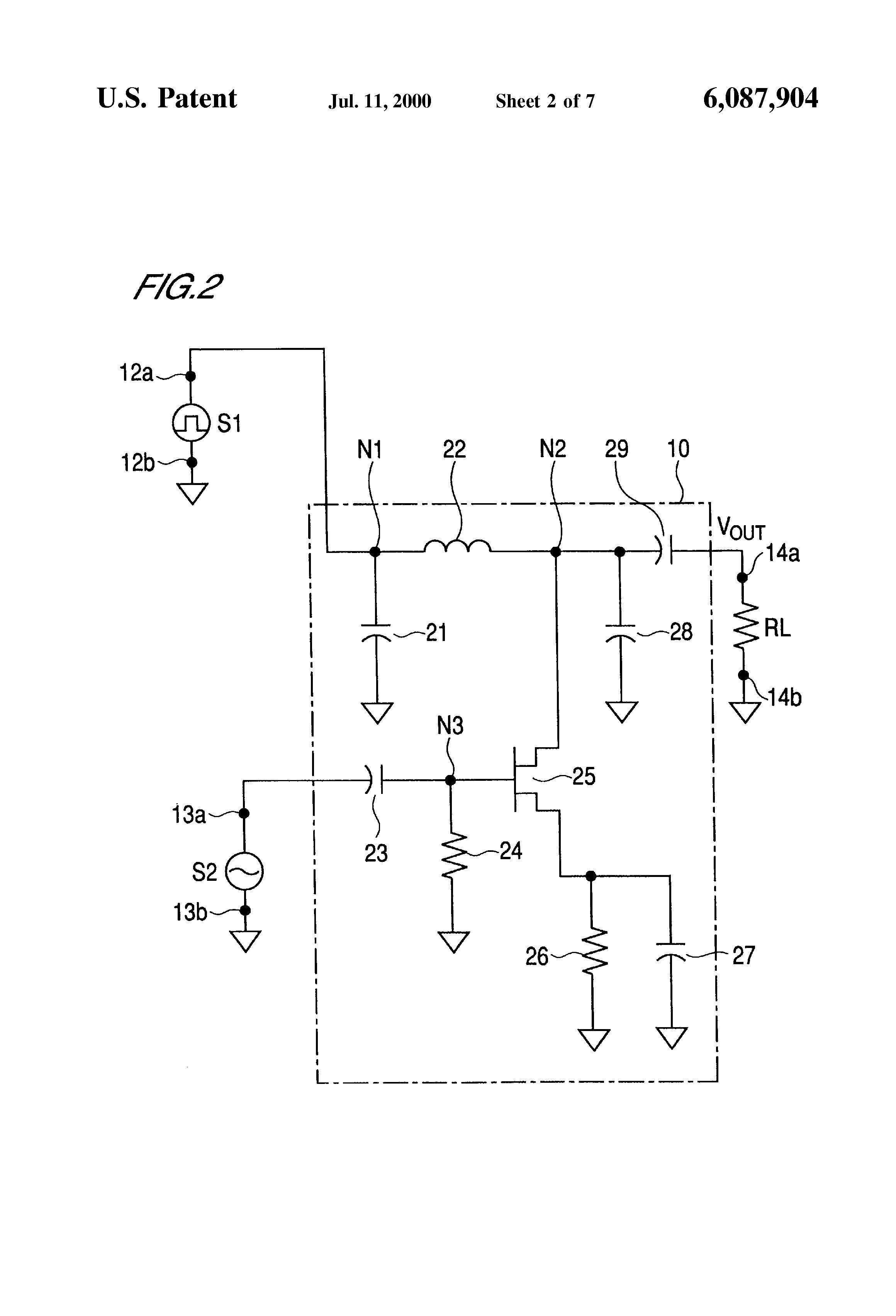 patent us6087904 - amplitude modulation and amplitude shift keying circuit