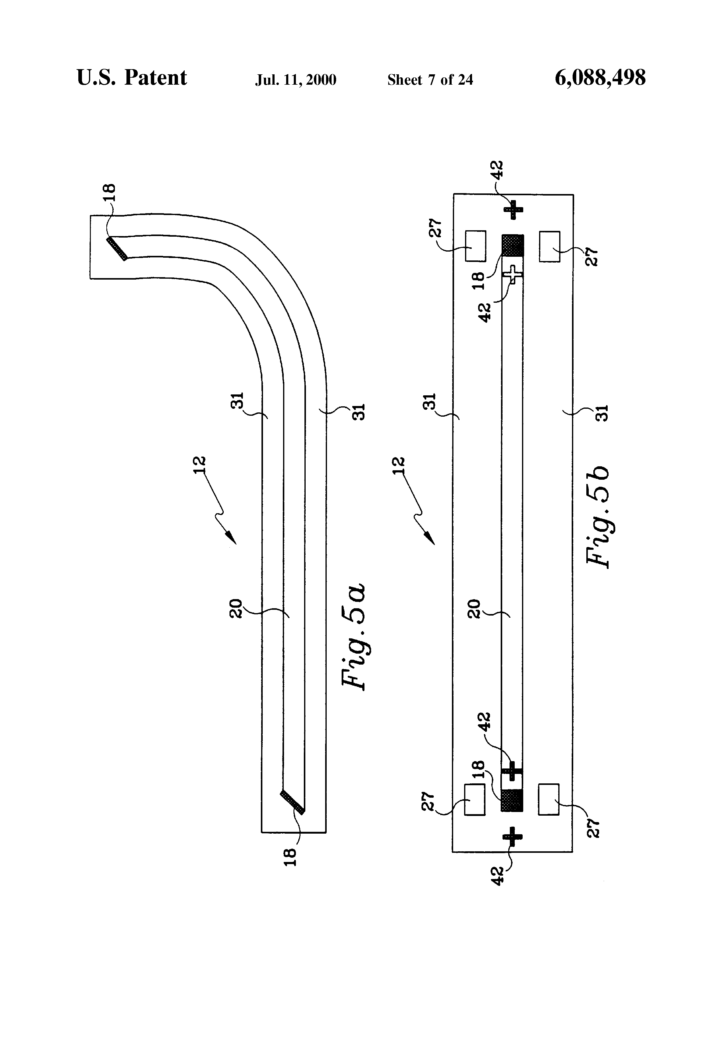 flexible optic connector assembly